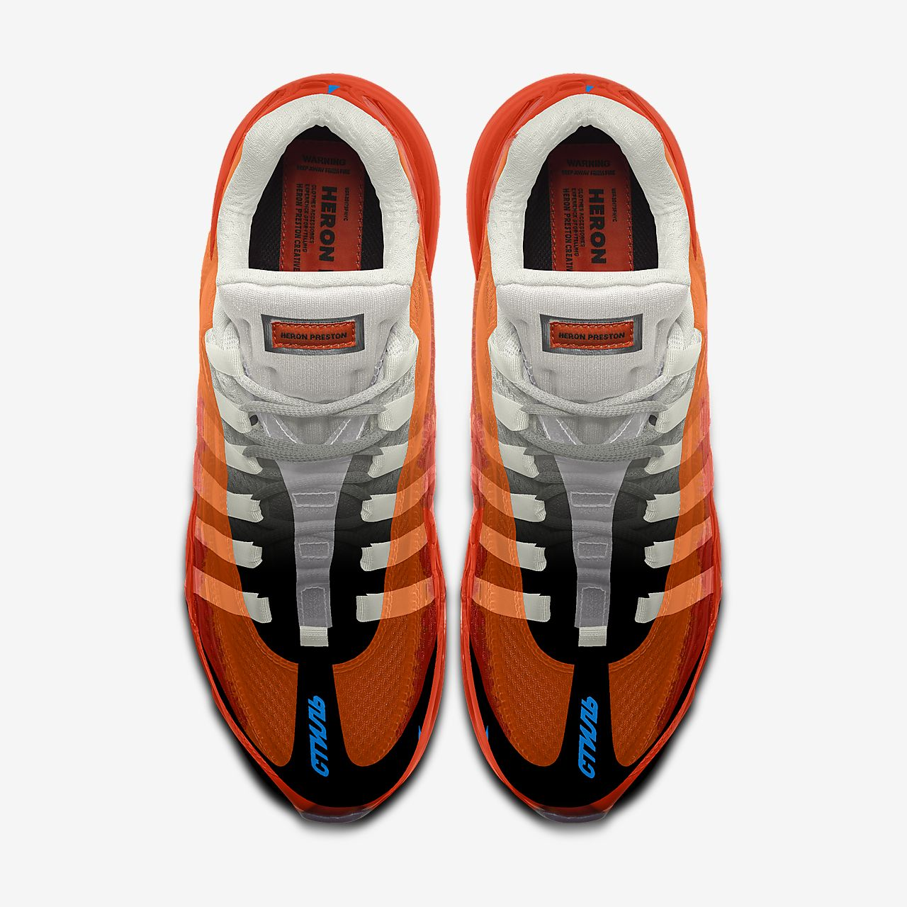 Chaussure lifestyle personnalisable Nike Air Max 95 Heron Preston By You