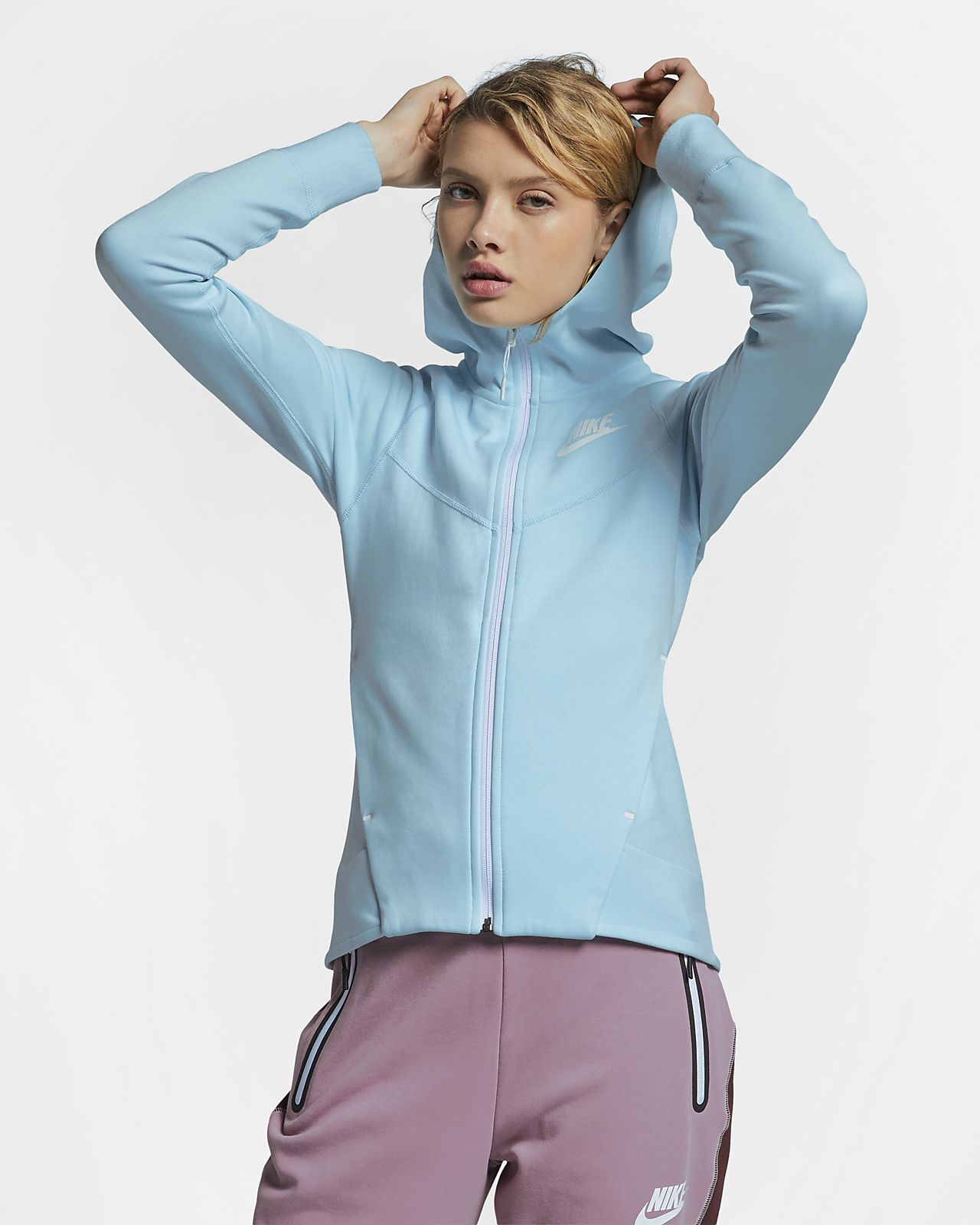 Nike Sportswear Tech Fleece Windrunner Women\u0027s Full,Zip Hoodie