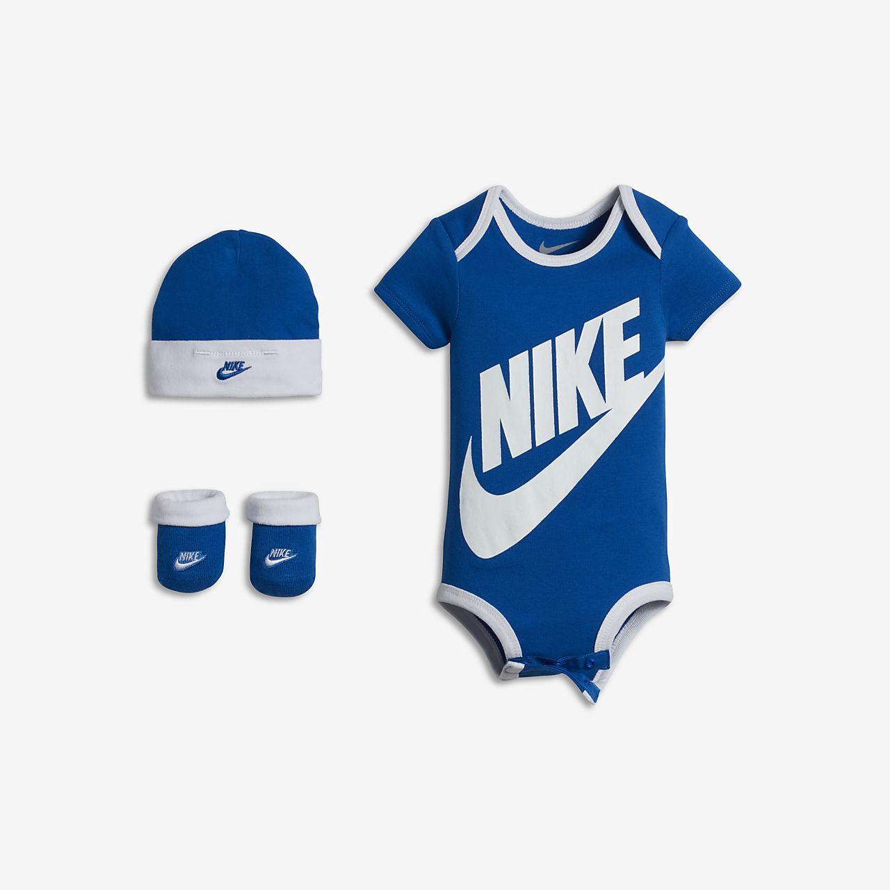 3bcb03ac4f5ba Nike Body Bebe fille 0 a 24 mois Gris gris
