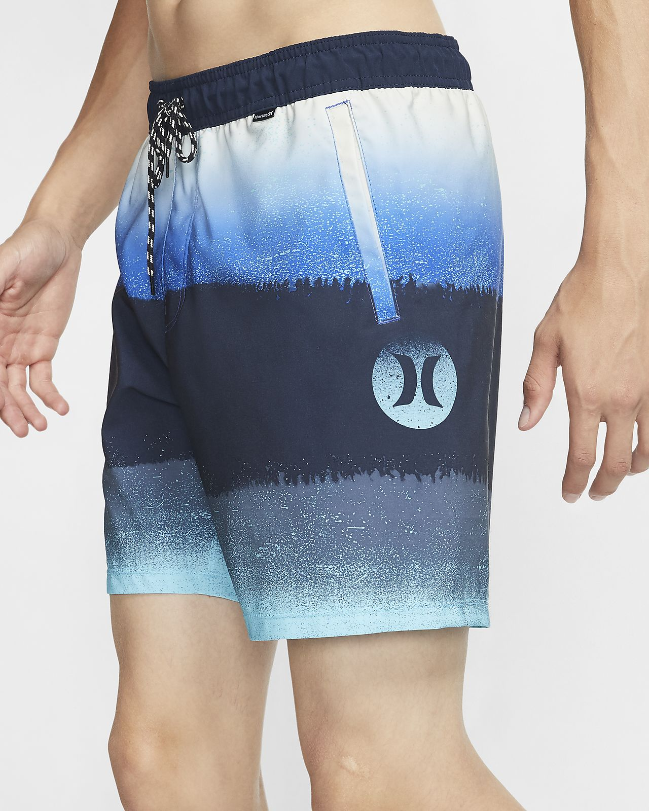 Hurley Phantom Sunset Herren-Boardshorts (ca. 43 cm)