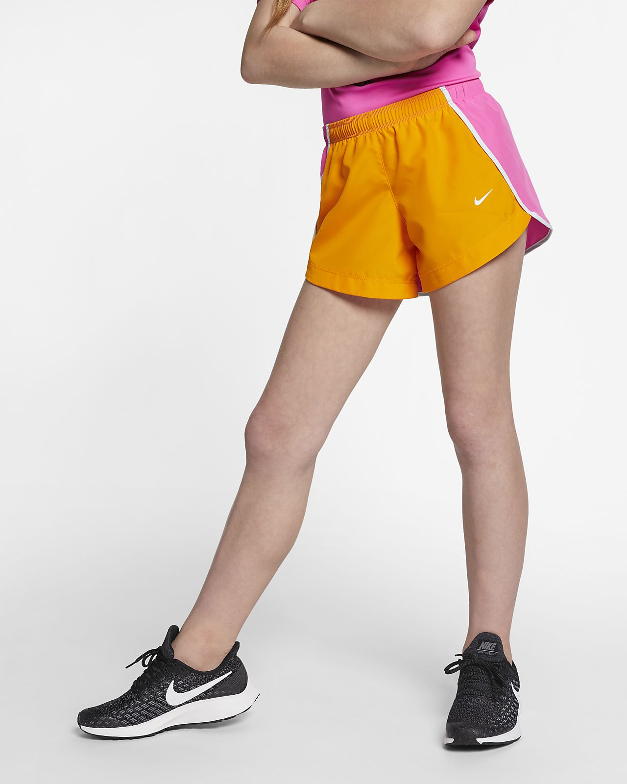 Löparshorts Nike Dri-FIT Run 7,5 cm för tjejer