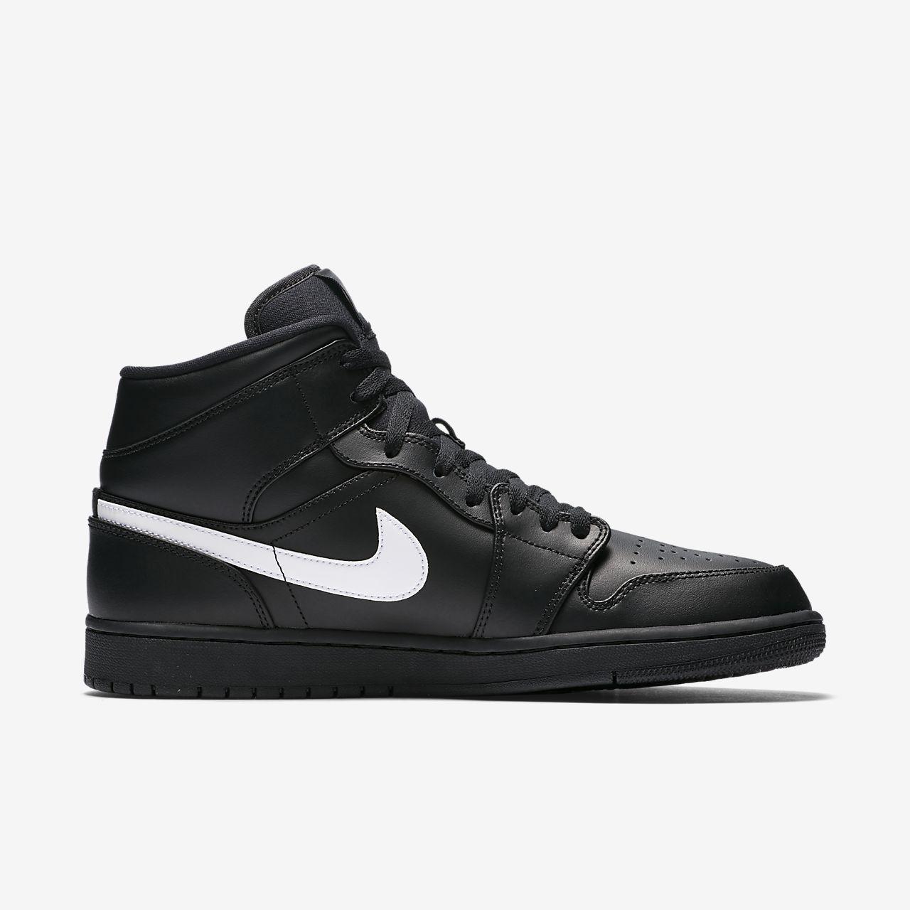 Chaussure de Basket Air Jordan 1 Mid Noir Anthracite pour homme OVyiYnZli