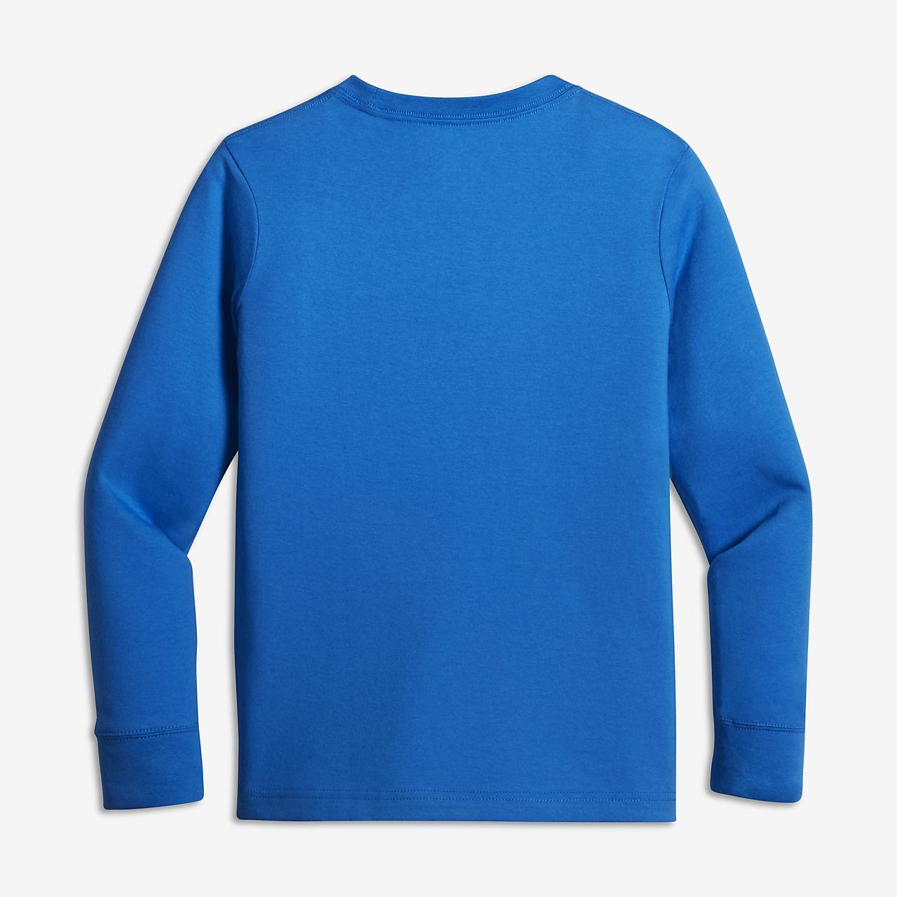 Jordan Dry Resume Big Kids' (Boys') Long Sleeve T-Shirt. Nike.com