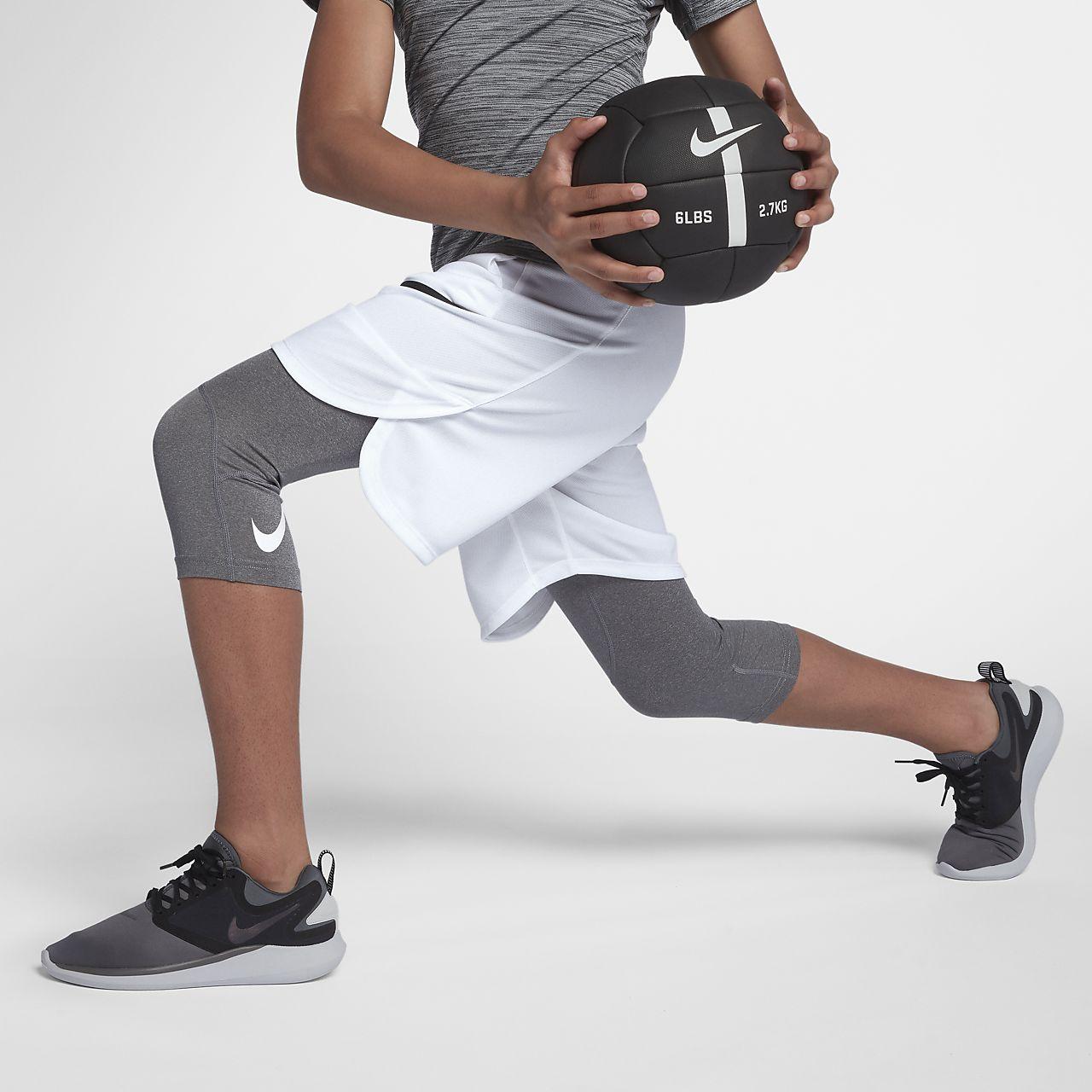 Nike Pro Big Kids' (Boys') 3/4 Training Tights