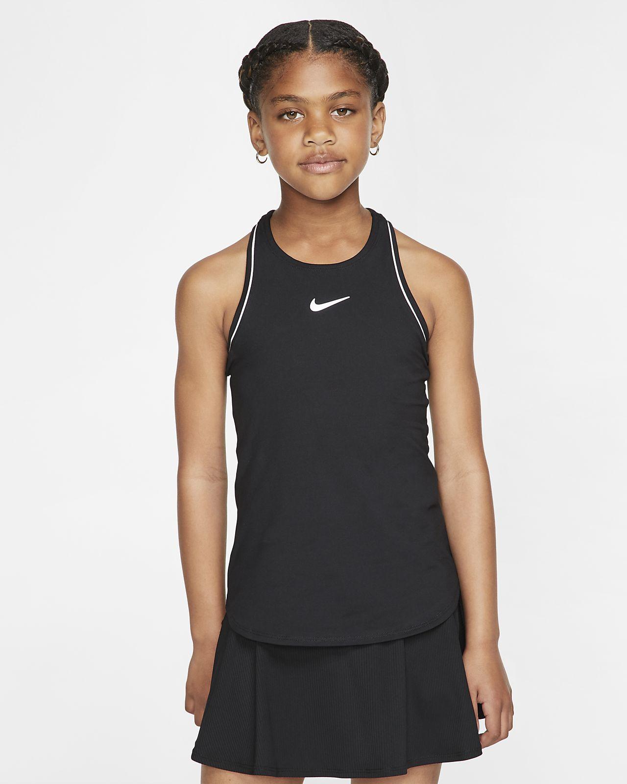 NikeCourt Dri-FIT Tanktop für ältere Kinder (Mädchen)
