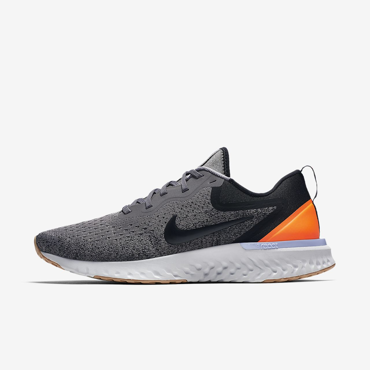 Nike Wmns Odyssey React Gunsmoke/Black-Twilight Pulse Running Shoes AO9820-003