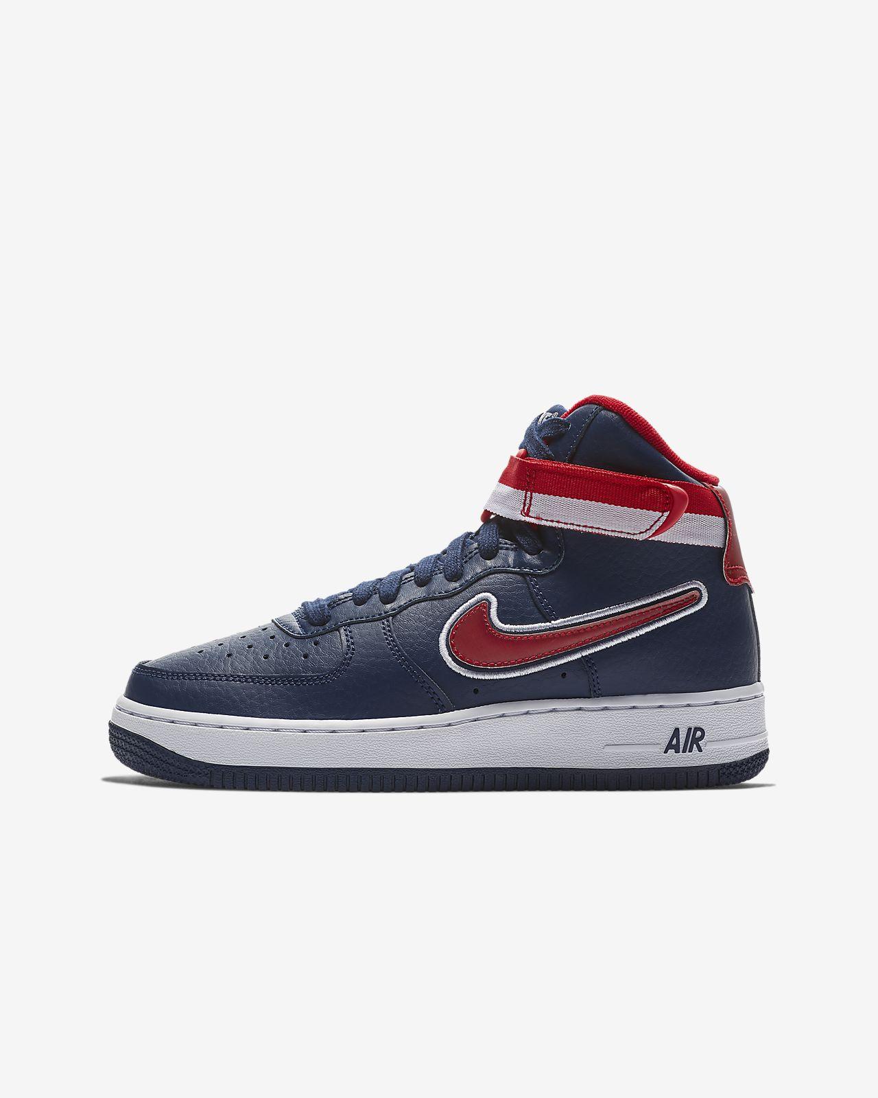 5d8053170fd Nike Air Force 1 '07 High LV8 Sport NBA Older Kids' Shoe. Nike.com VN
