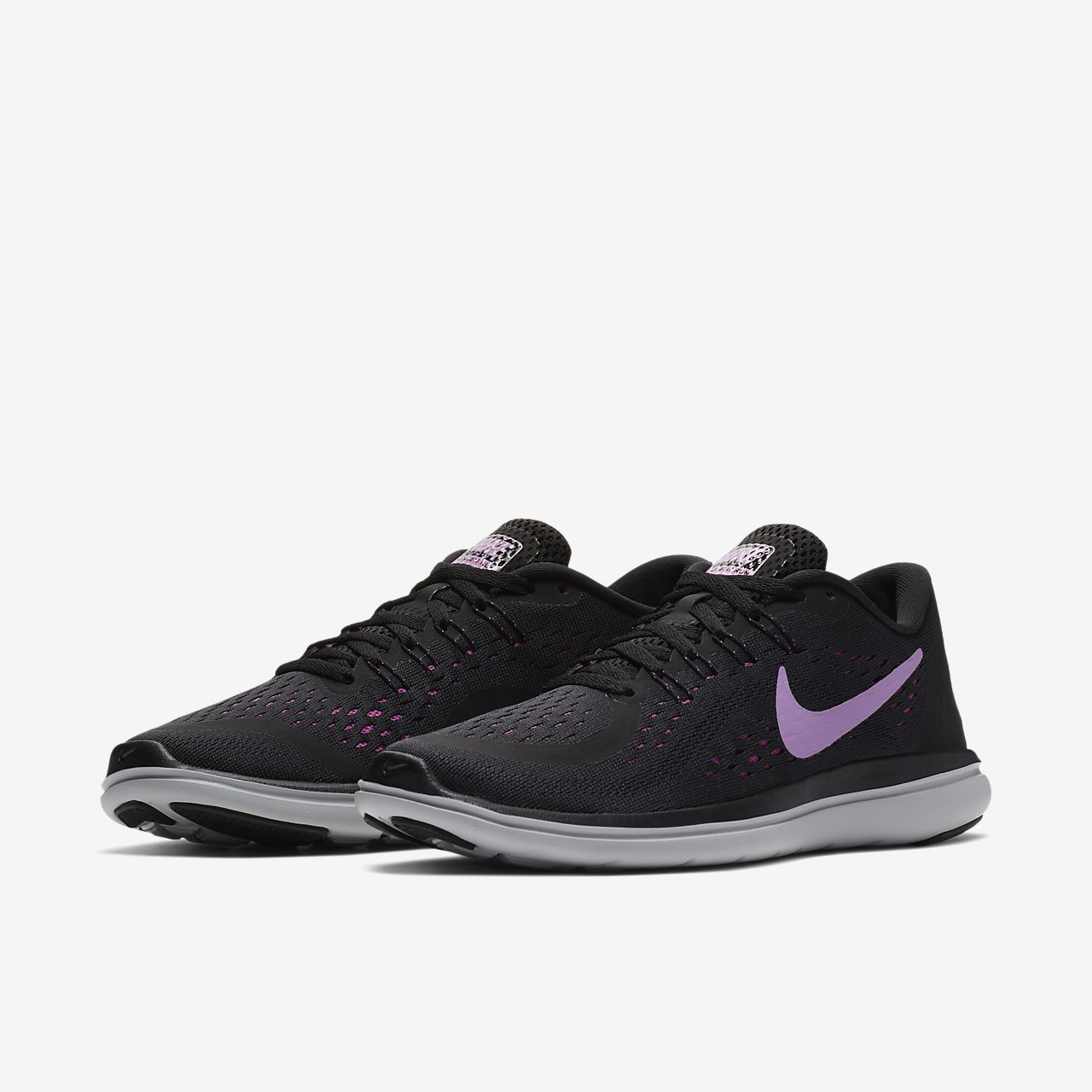 Nike Flex RN MEN'S Scarpe da Ginnastica Running Nero 830369 001