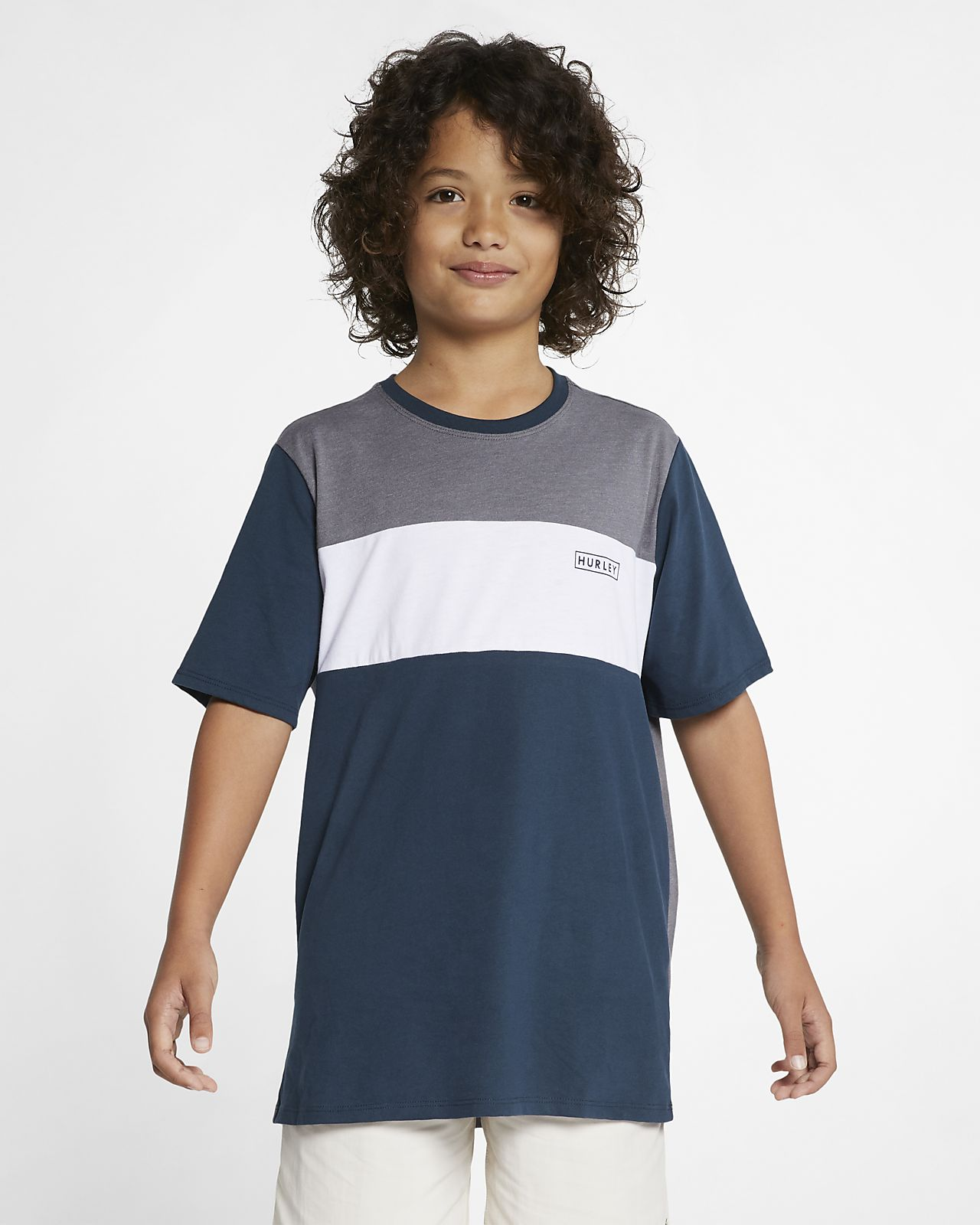 Hurley Dri-FIT Blocked Jungenoberteil