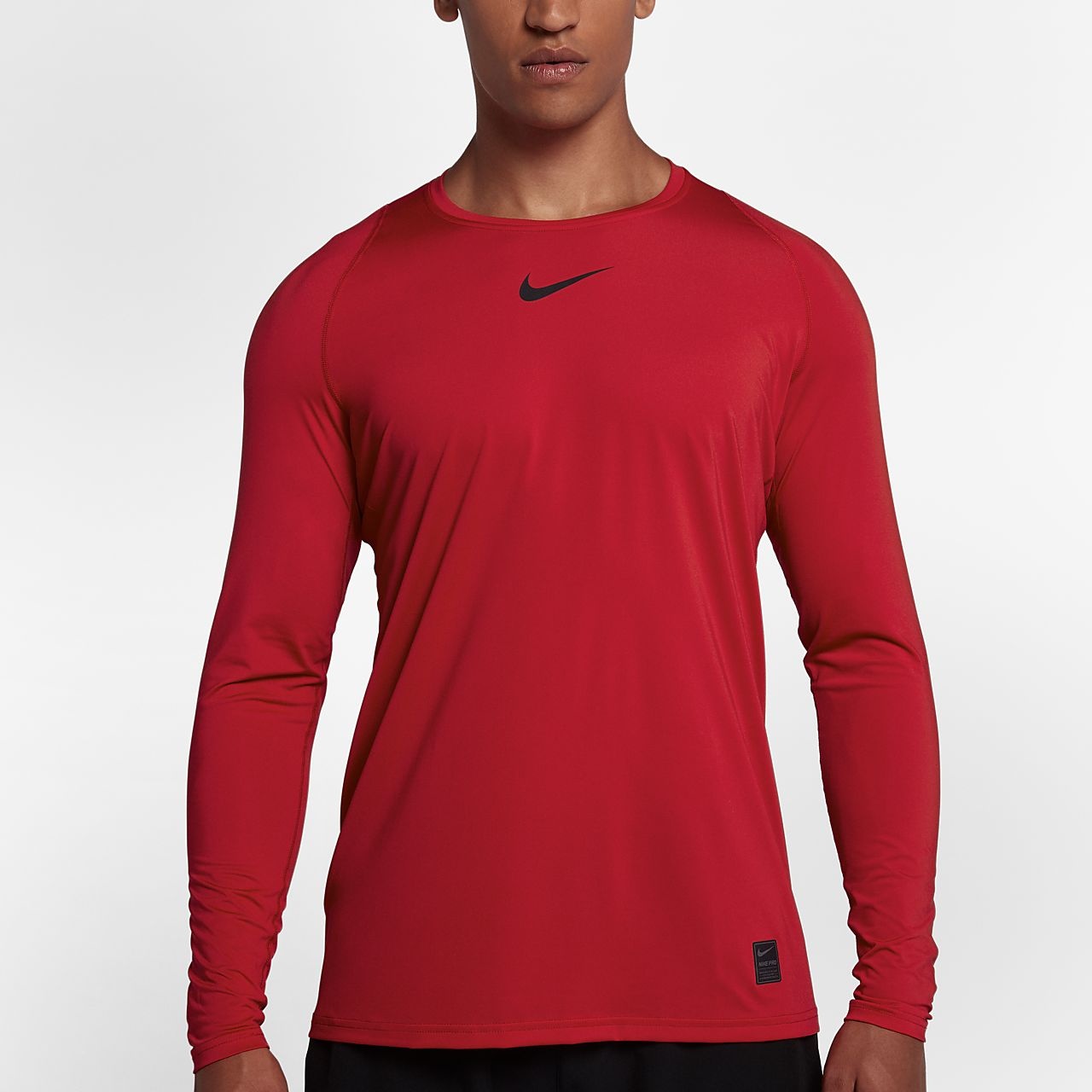 cd76677e6 Nike Pro Top Men's Fitted Long-Sleeve Top