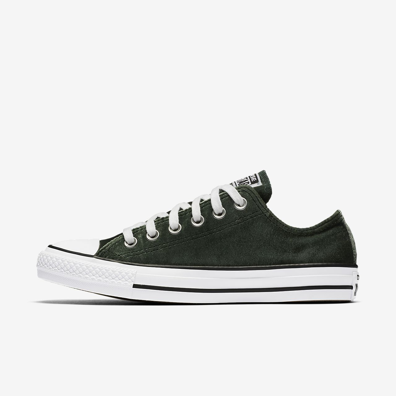 Popularity Unisex Converse All Star Velvet Shoes