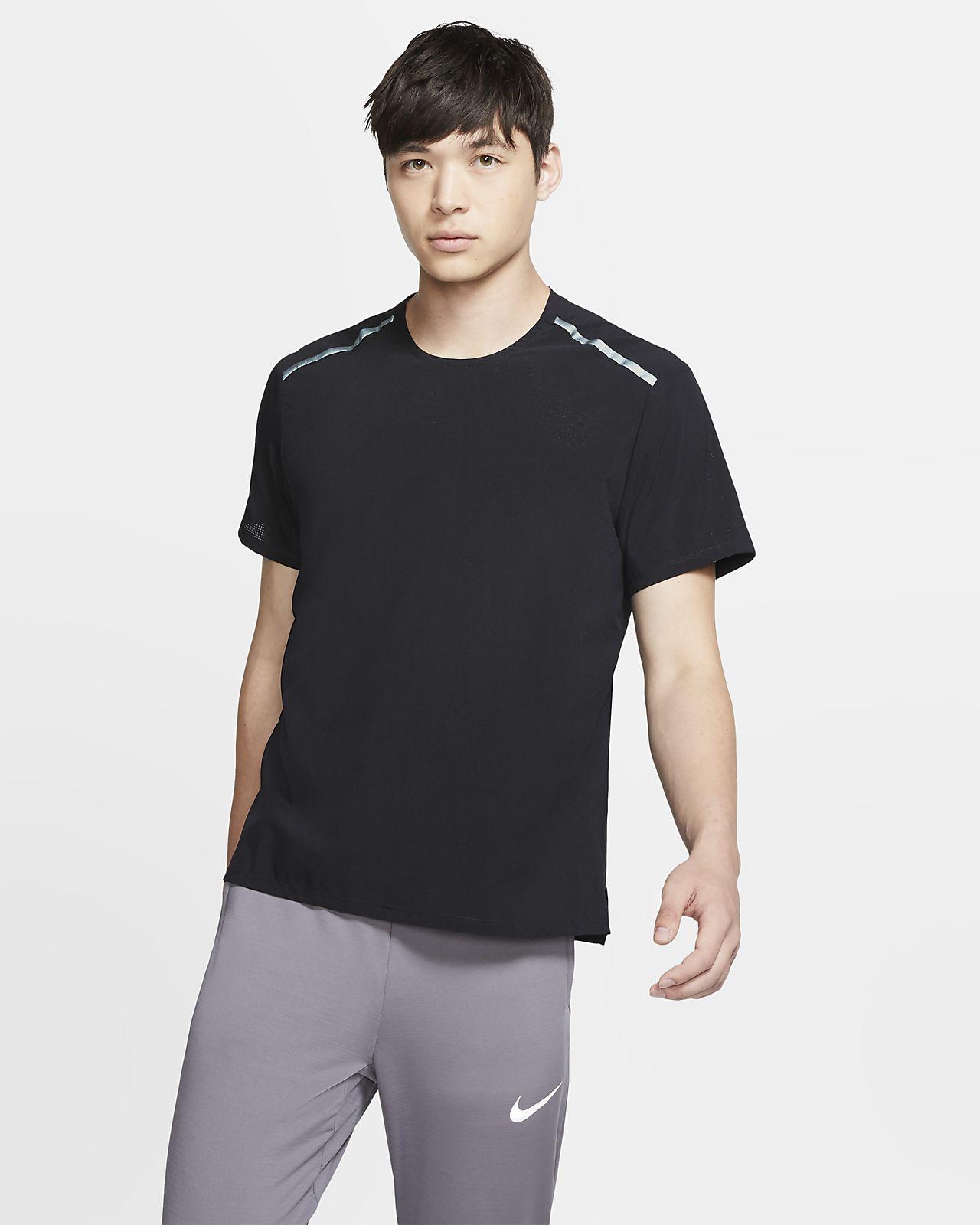 Nike Kısa Kollu Erkek Koşu Üstü