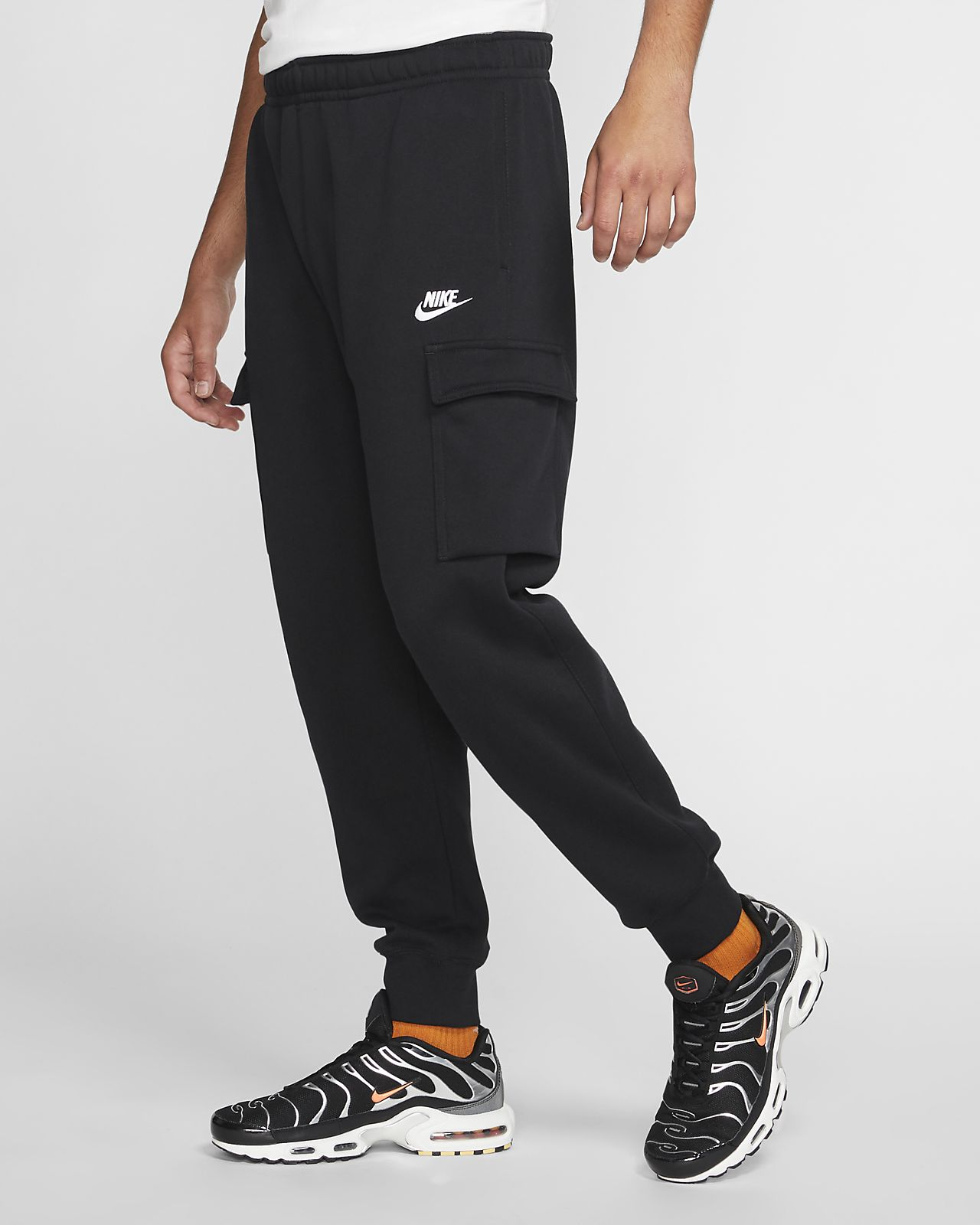 cost charm street price search for official Nike Sportswear Club Fleece Men's Cargo Pants