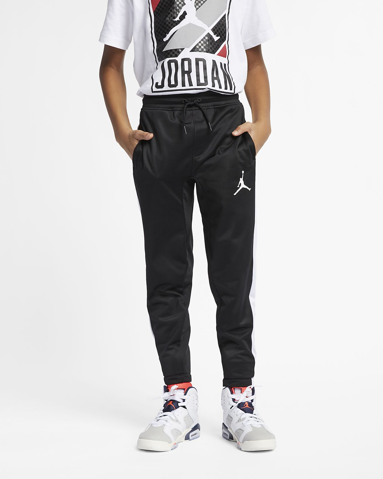 Calças Jordan Sportswear Diamond Júnior (Rapaz)