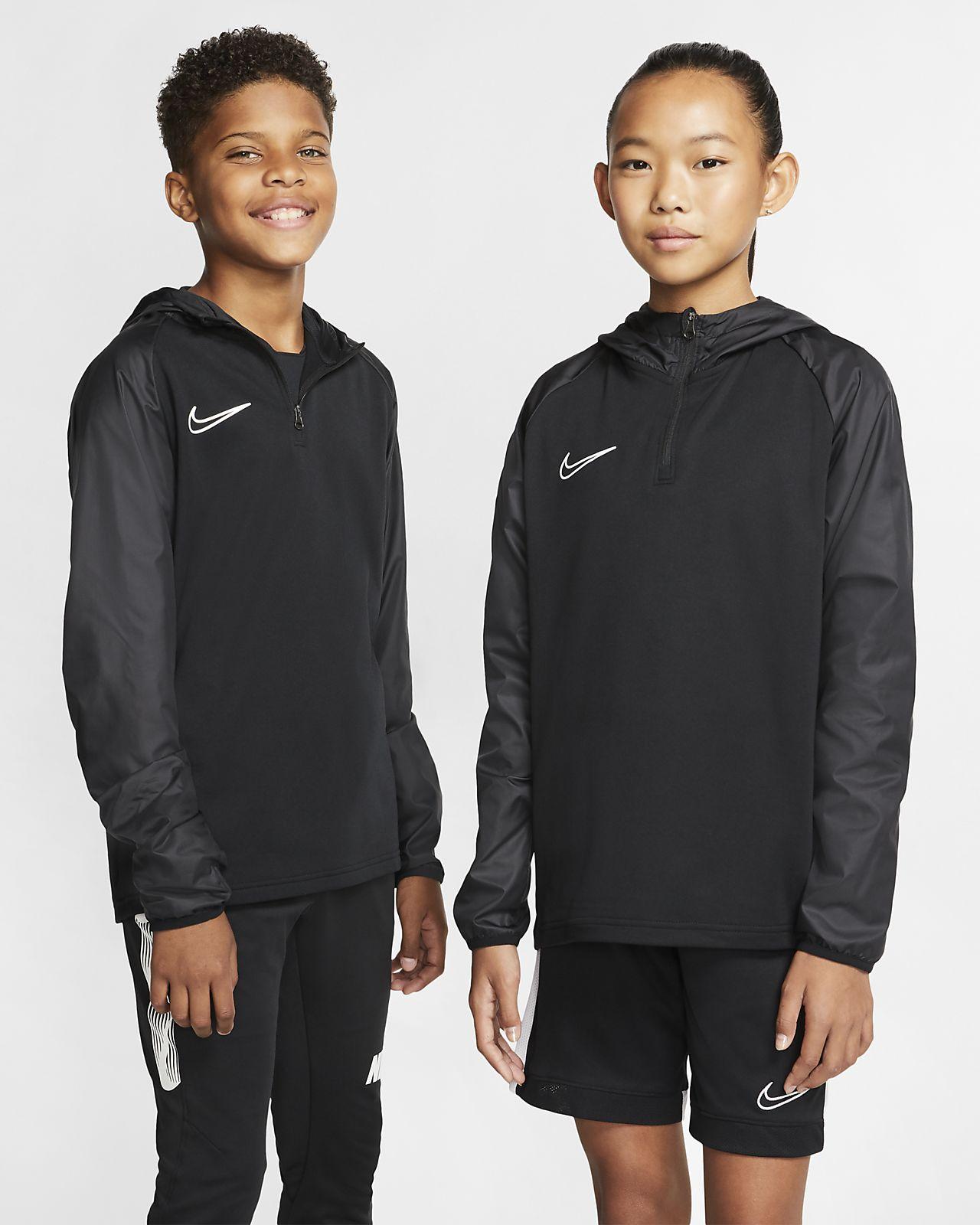 Camisola de treino de futebol com capuz Nike Dri FIT Repel Academy Júnior