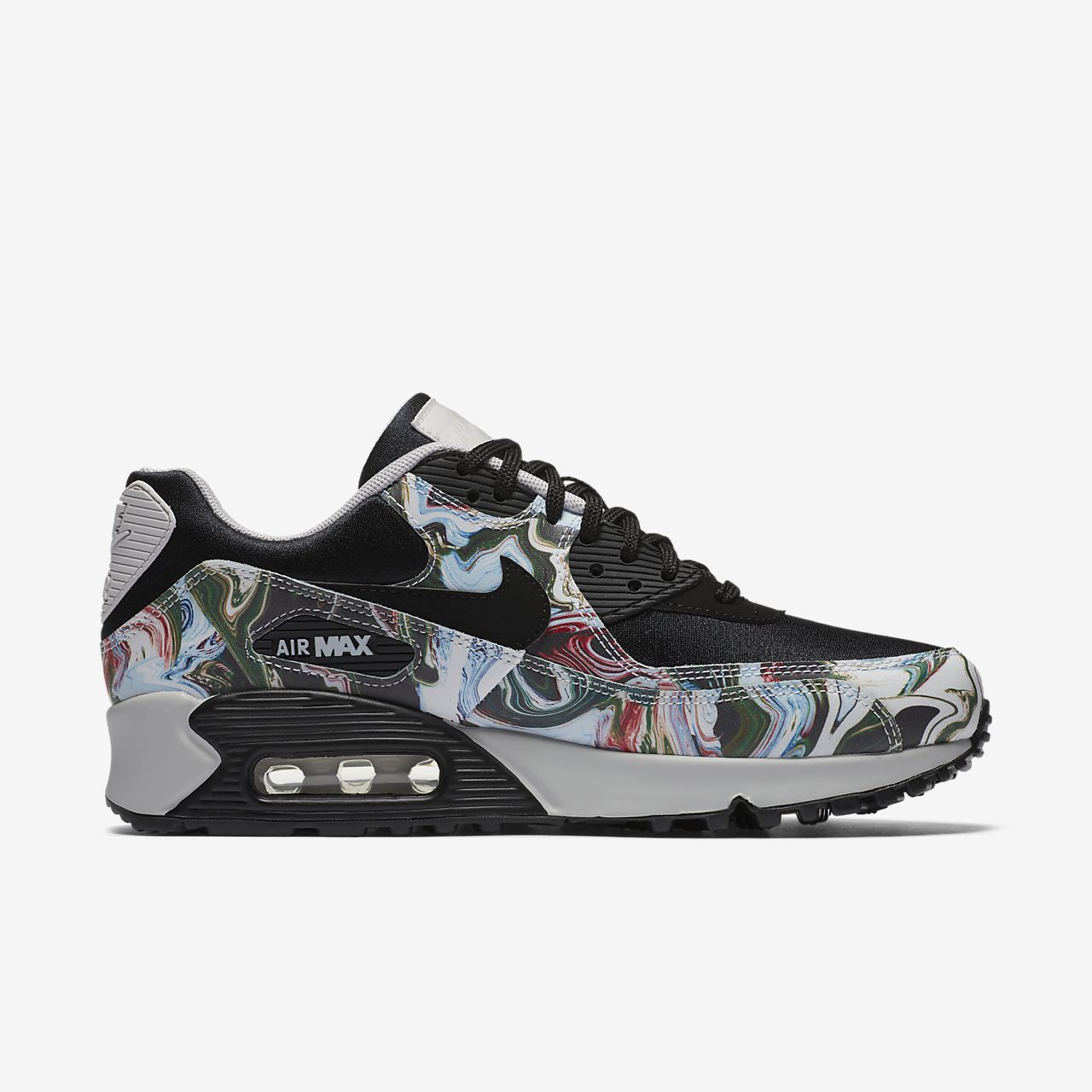 nike air max 90 print leather infant