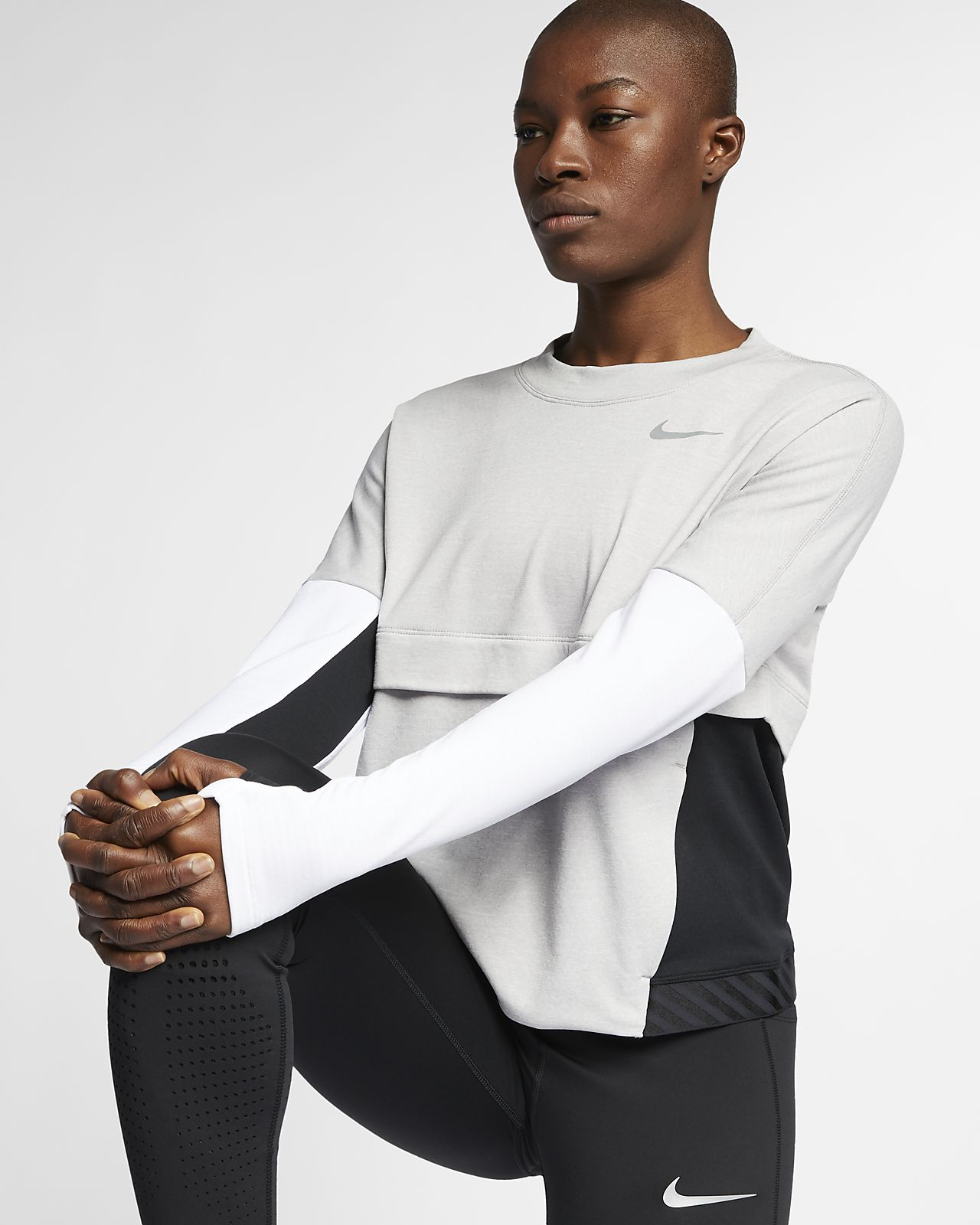 the best attitude 358b7 27e0f ... Nike Therma-Sphere Women s Running Top