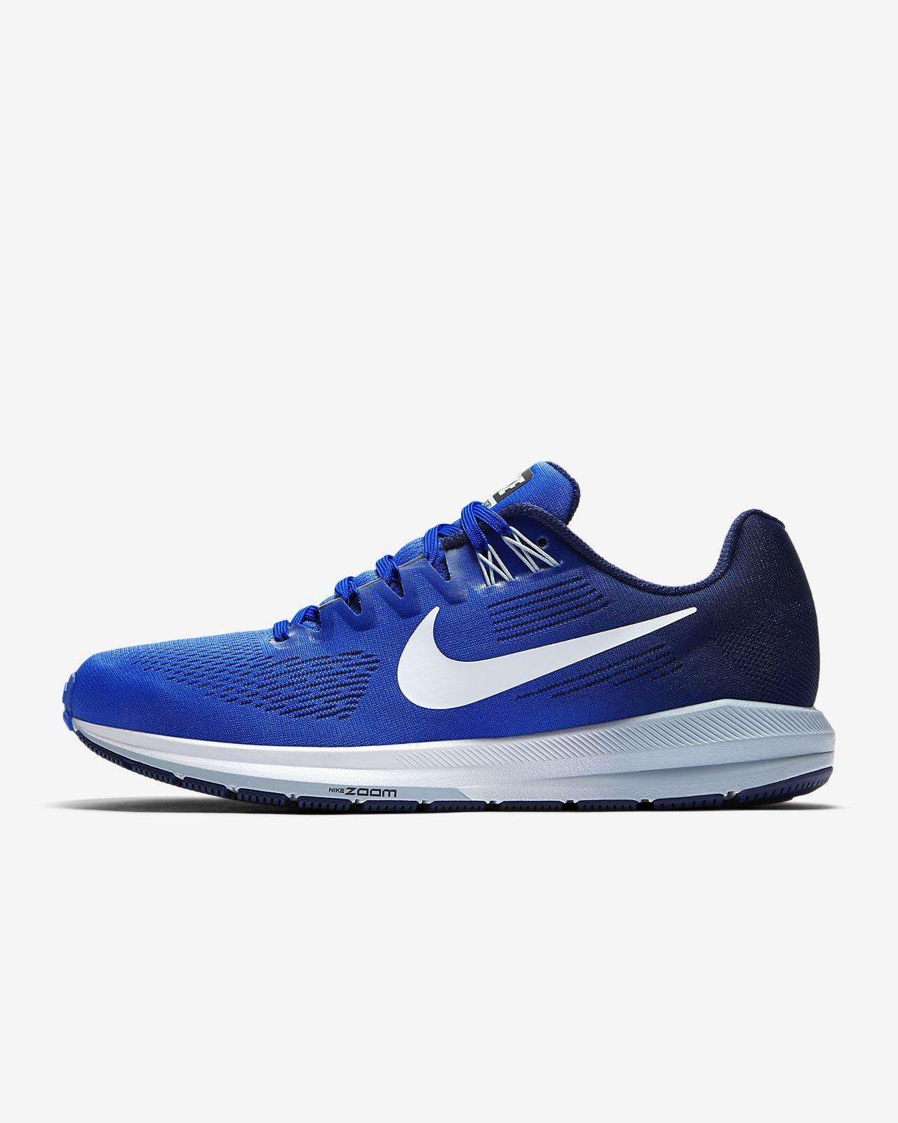 Nike Air Zoom Structure 21 Scarpe Running Uomo Blue