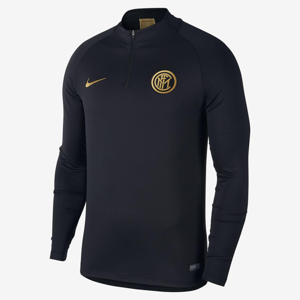 Nike Dri-FIT Inter Milan Strike fotballtreningsoverdel til herre