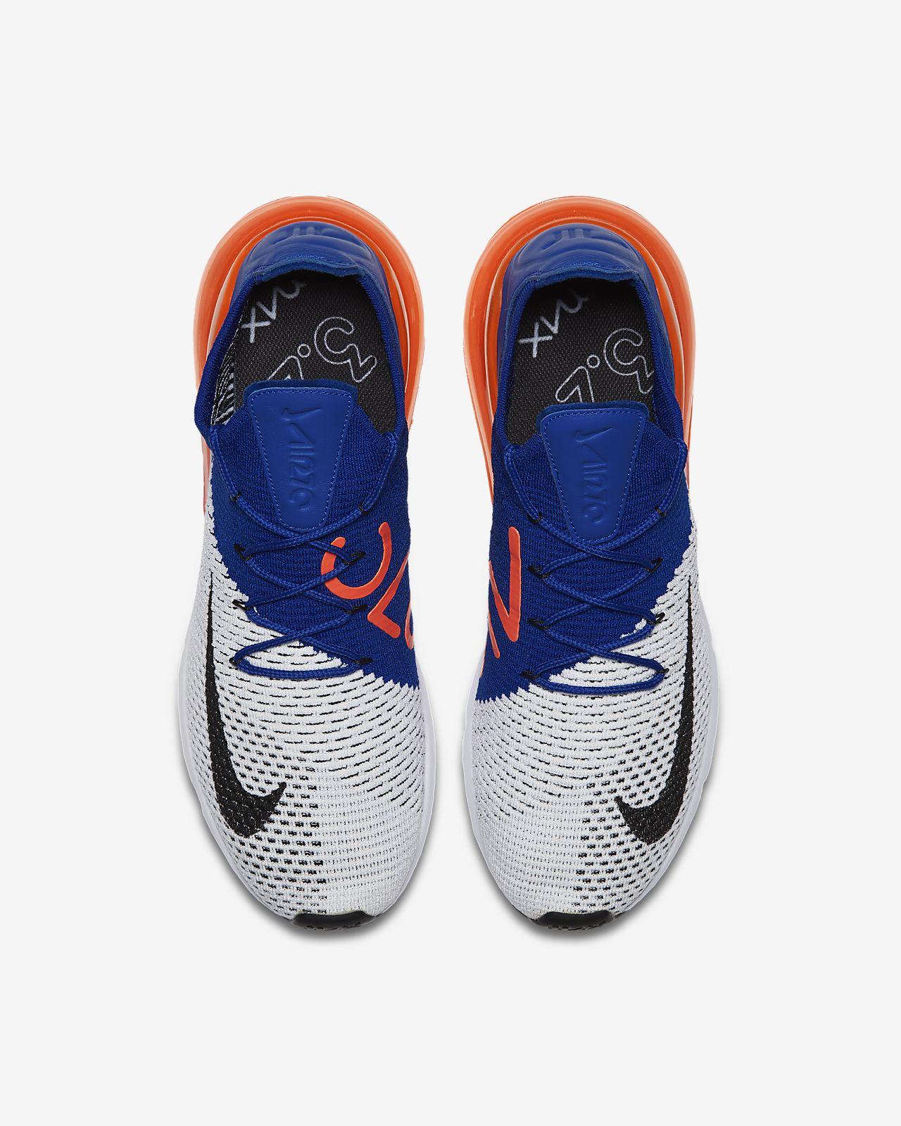Mens WhiteRacer BlueTotal CrimsonBlack Nike Air Max 270