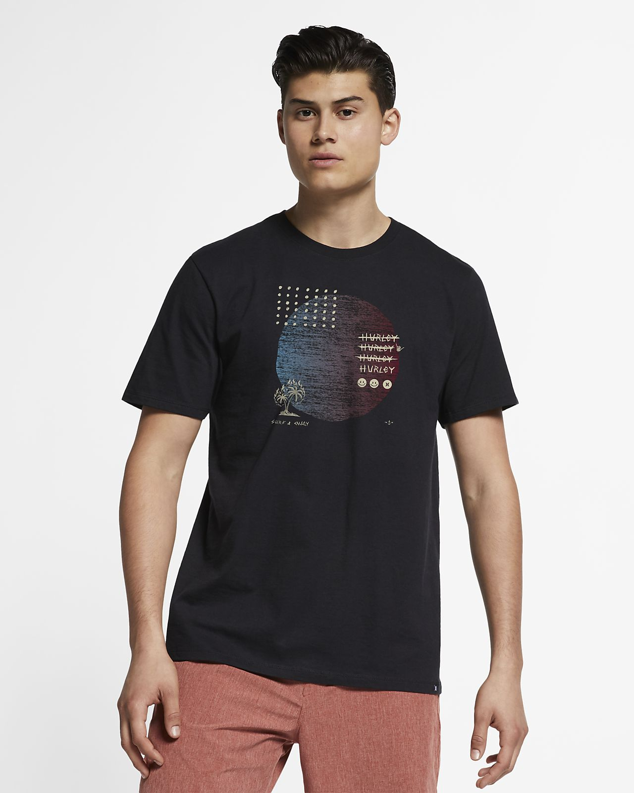 Hurley Premium Stranger Tides Men's T-Shirt