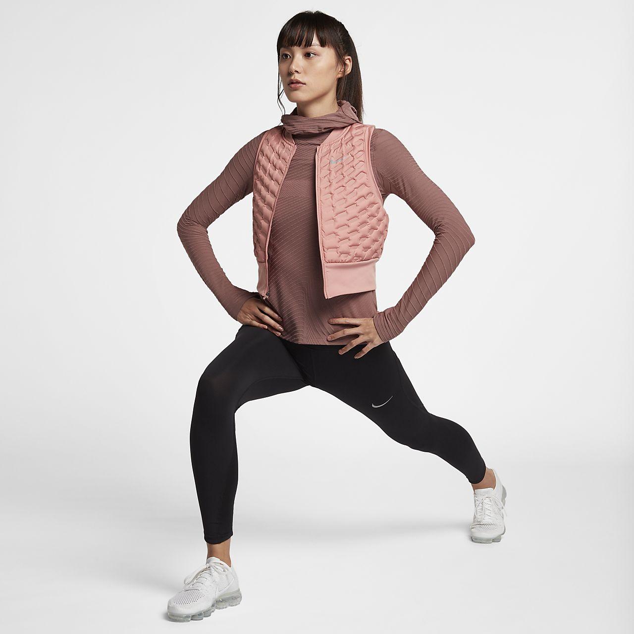 Veste Pour Manches Nike Running Aeroloft Femme Sans Ca De 7qrT7