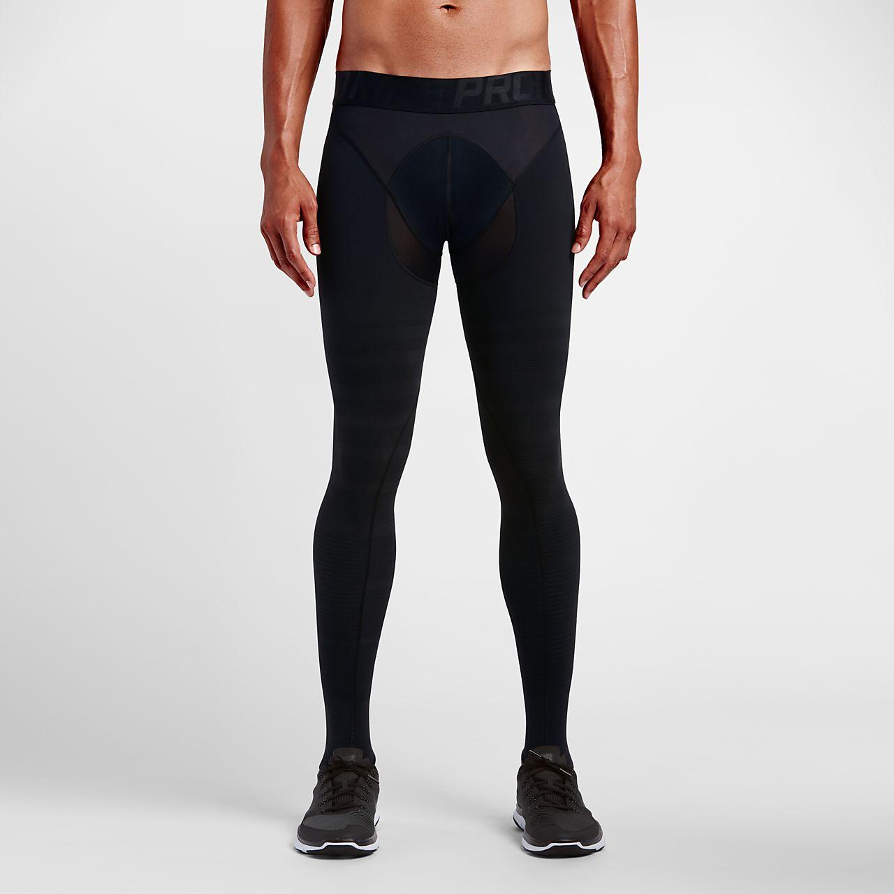 Nike Pro Hyperrecovery Men's Training Tights Black/Metallic Pewter