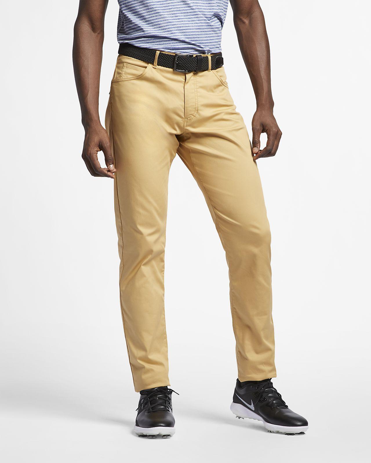 Мужские брюки для гольфа с плотной посадкой и 5 карманами Nike Flex