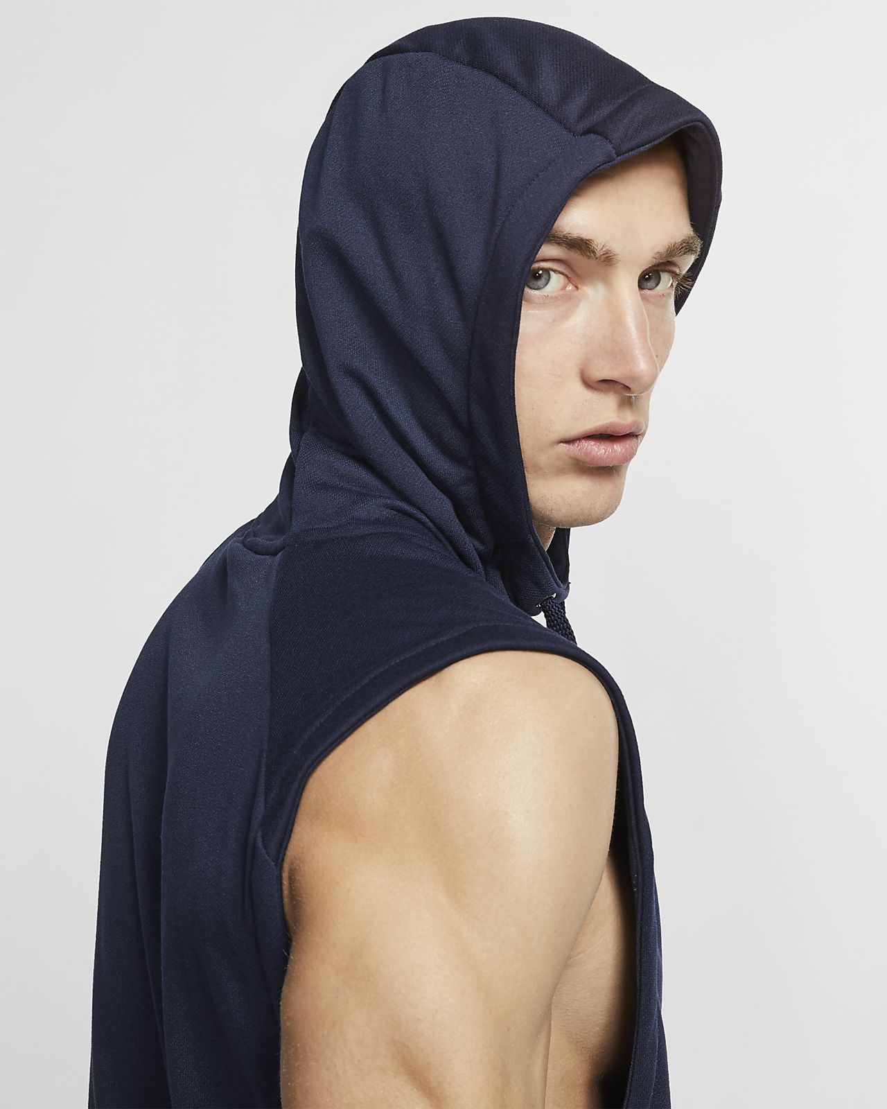 e3f43fefa556c Nike Dri-FIT Men s Sleeveless Training Hoodie. Nike.com