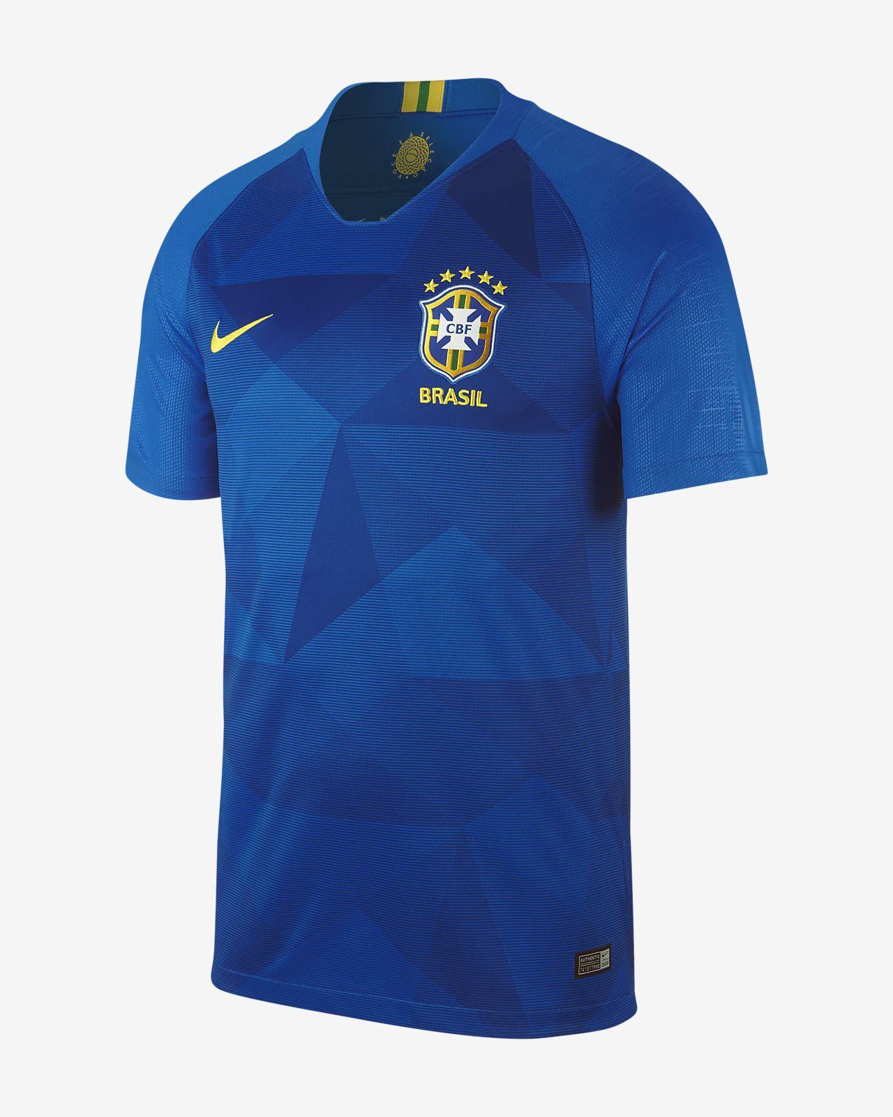 Maillot de football 2018 Brasil CBF Stadium Away pour Homme