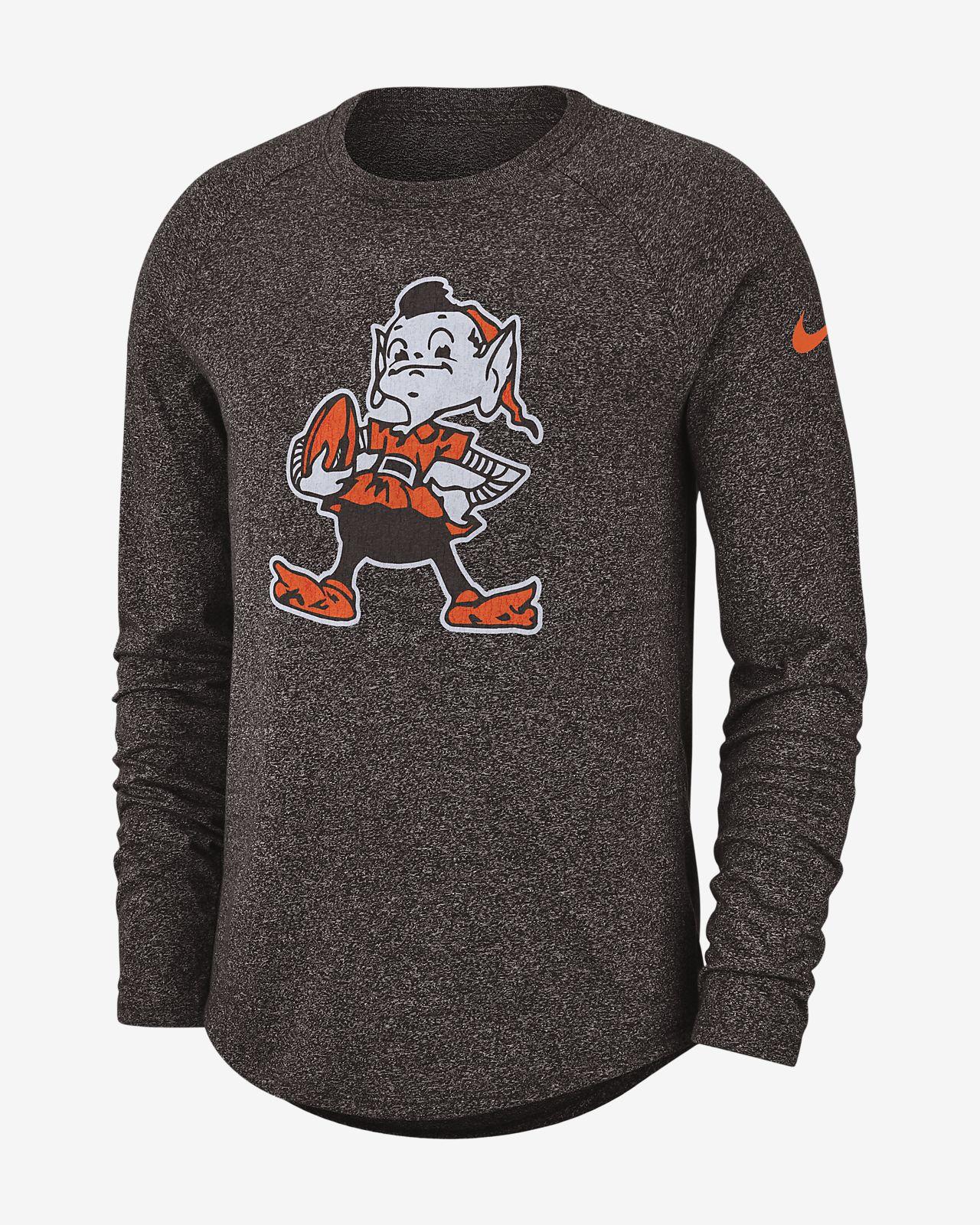 d83cccf4be6 Nike Historic (NFL Browns) Men's Long-Sleeve T-Shirt