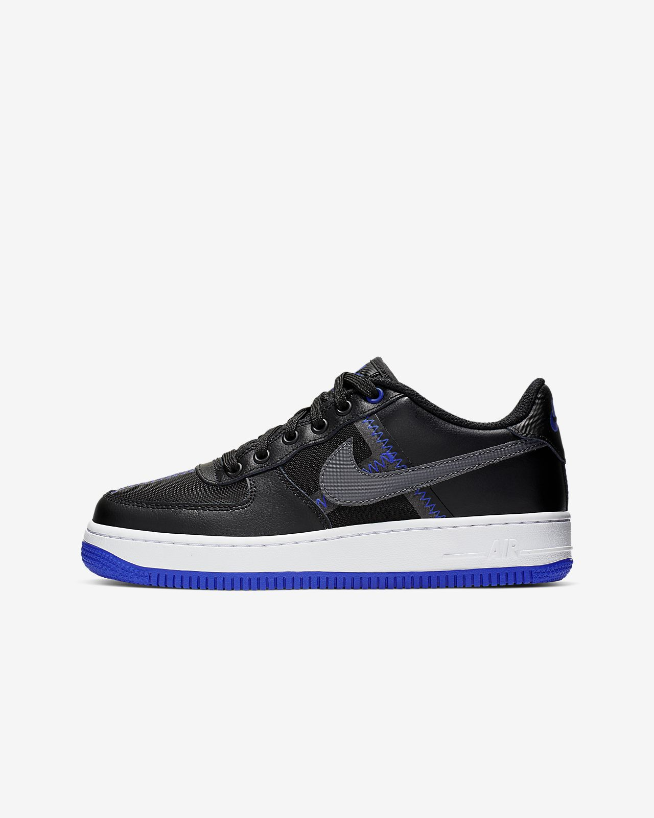 Nike Nike Air Force 1 LV8 Big Kids' Shoe Size 5.5Y (White) Clearance Sale from NIKE | Shop