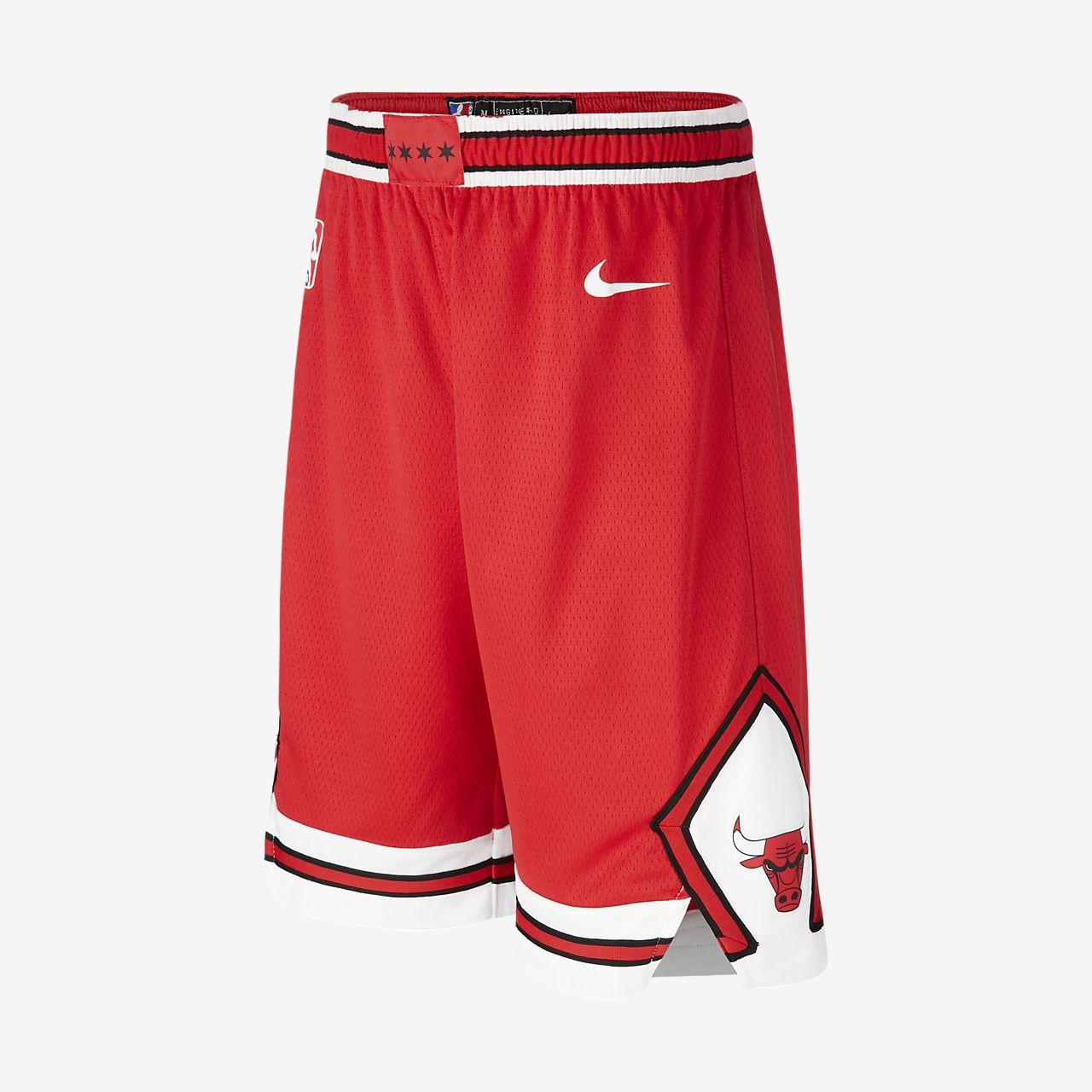 Chicago Bulls Nike Icon Edition Swingman NBA-jongensshorts