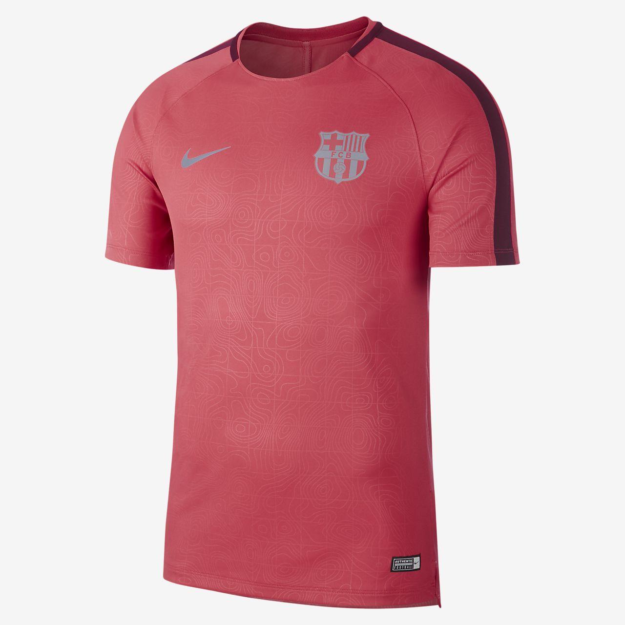 6fc97e0c542a FC Barcelona Dri-FIT Squad Men s Short-Sleeve Football Top. Nike.com GB