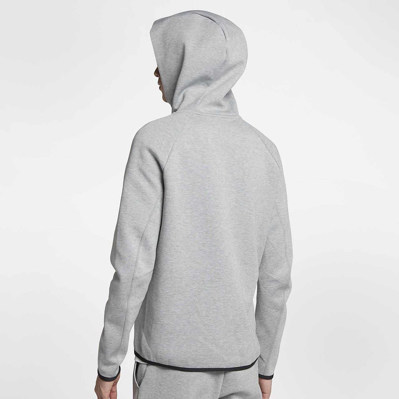 c2cd73618e71e ... Sweat à capuche entièrement zippé Nike Sportswear Tech Fleece pour Homme