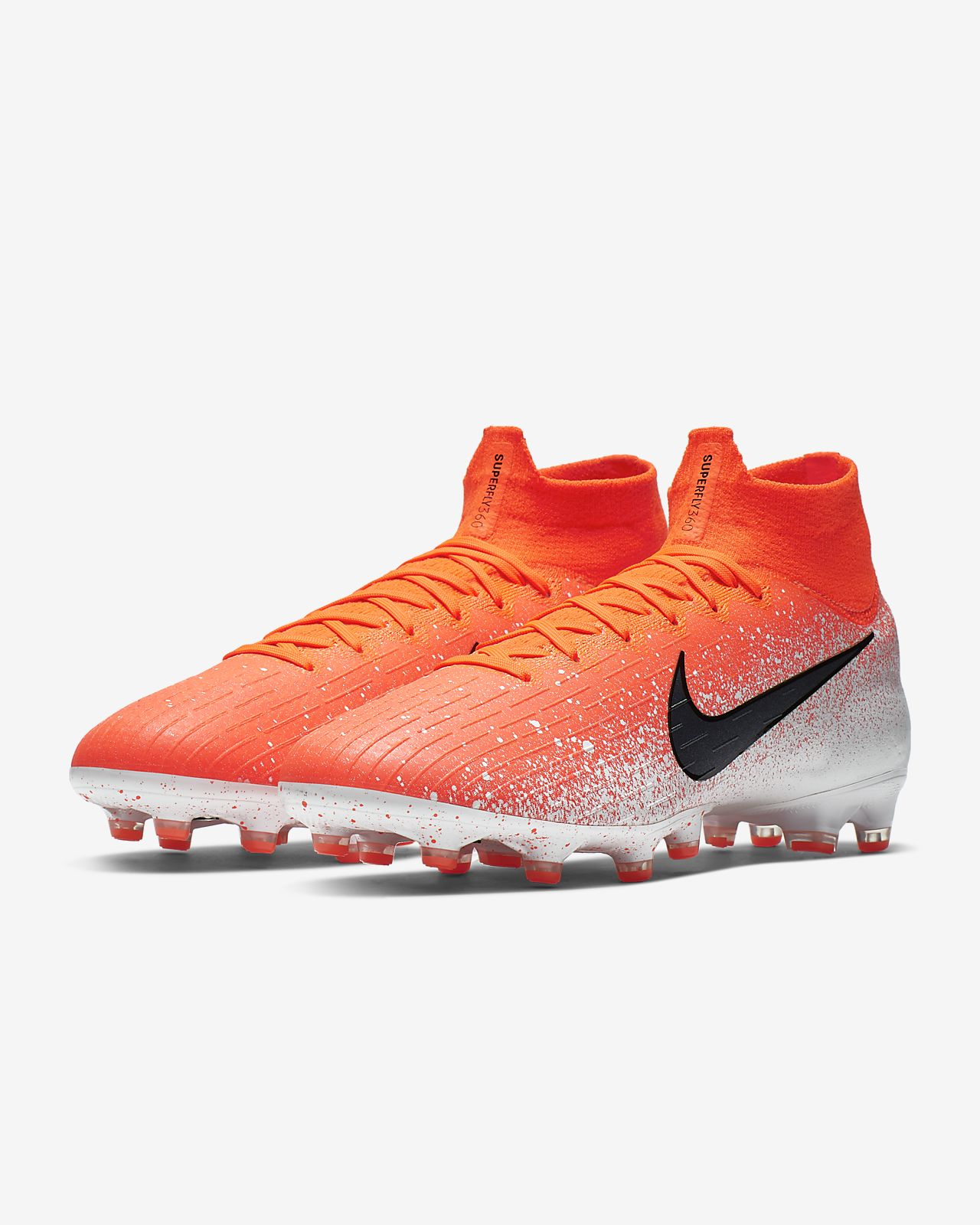 new product 26a6d 507b5 Nike Mercurial Superfly 360 Elite AG-PRO Artificial-Grass Football Boot