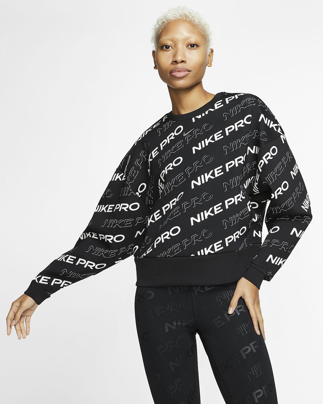 Nike Pro Fleece Kadın Crew Üst