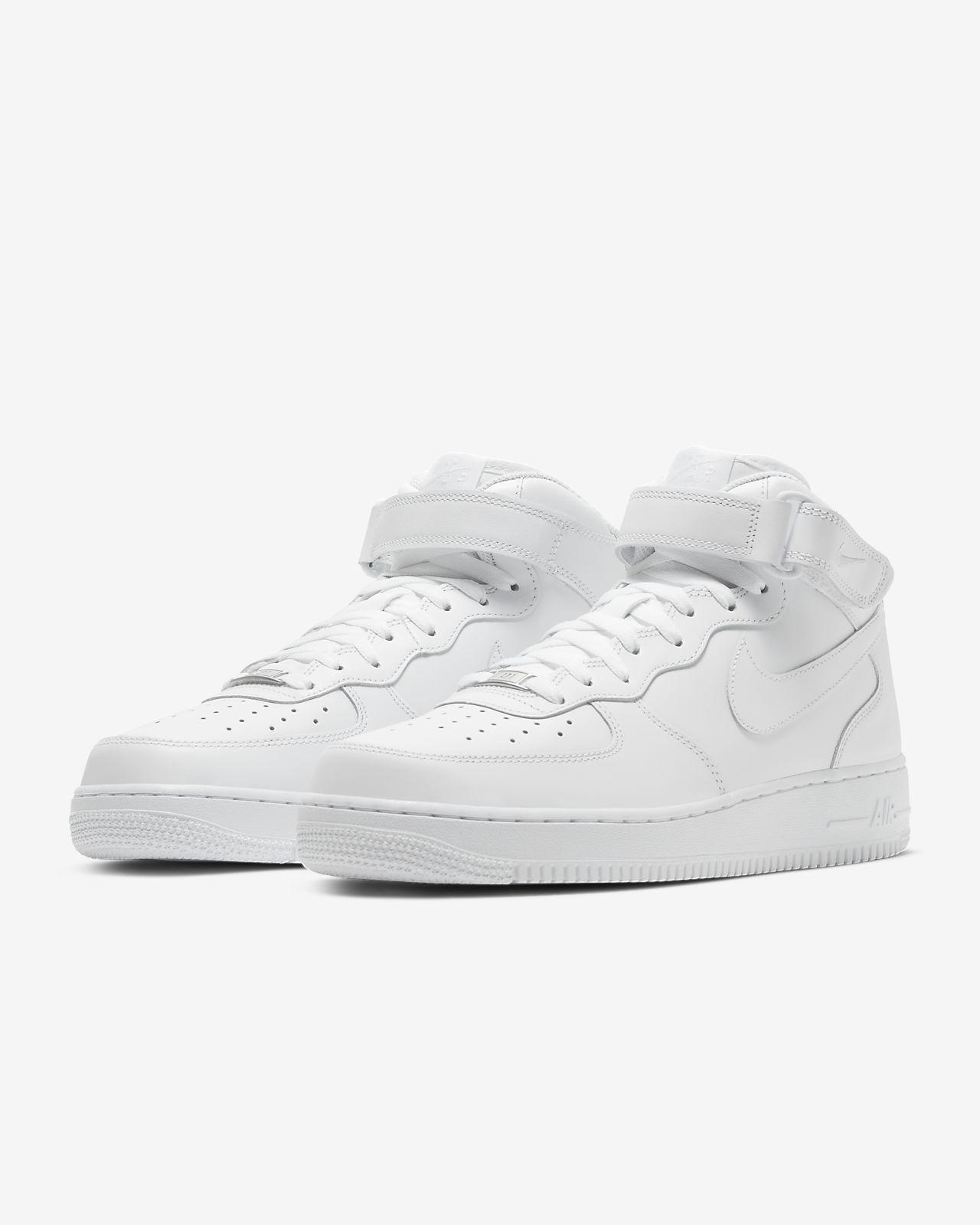 Nike White Mens Footwear US 2017 Nike Air Force 1 Low Pivot
