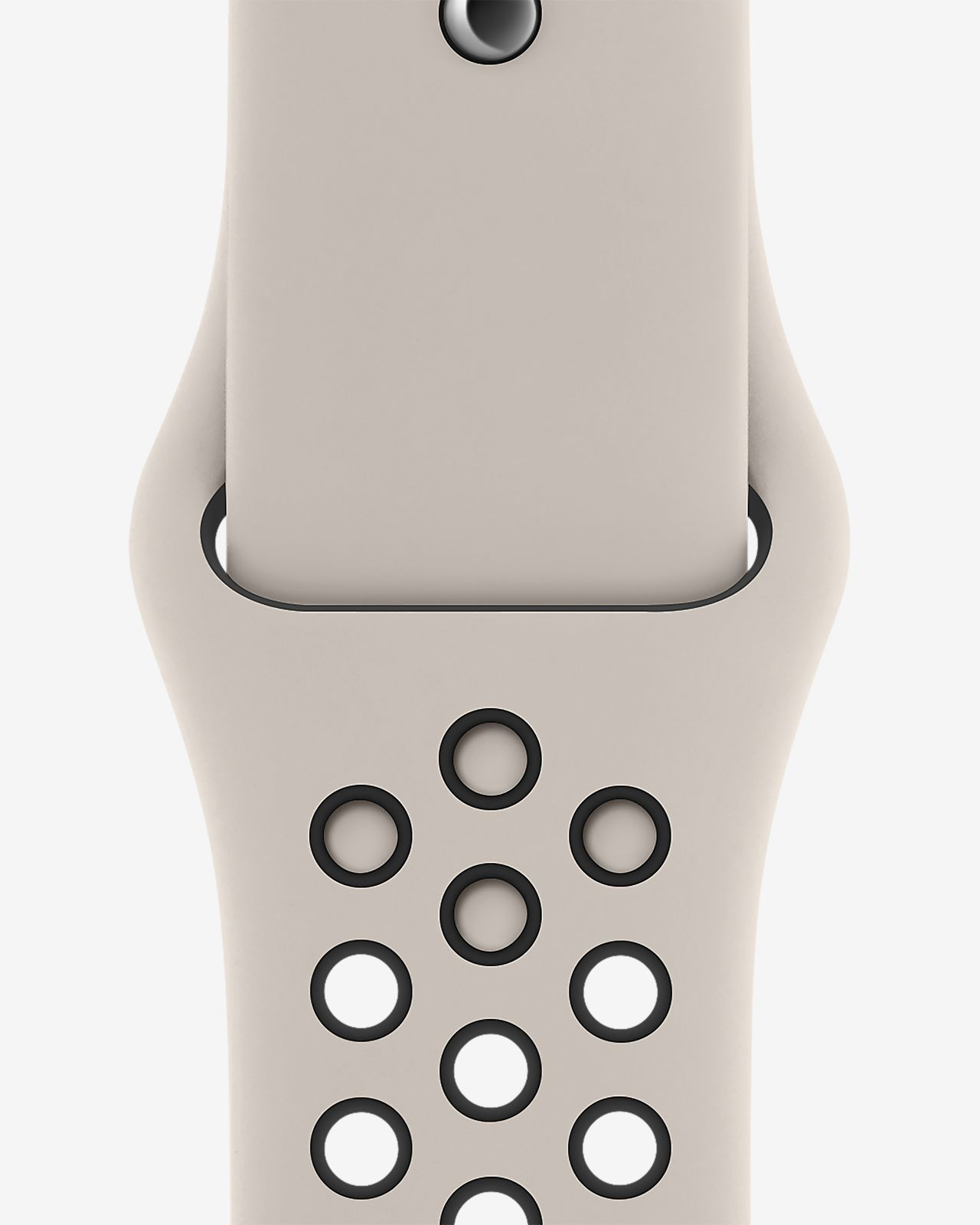 Apple Watch Nike Corretja Sport Band de color sorra del desert / negre de 44 mm