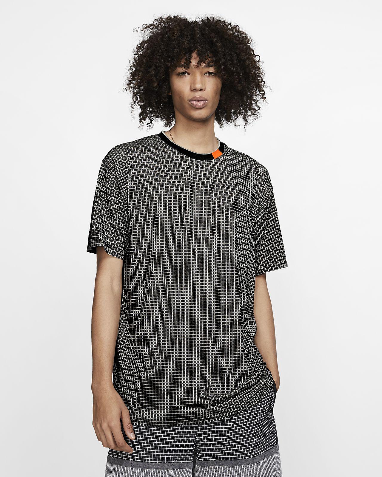 Koszulka z dzianiny z krótkim rękawem Nike Sportswear Tech Pack