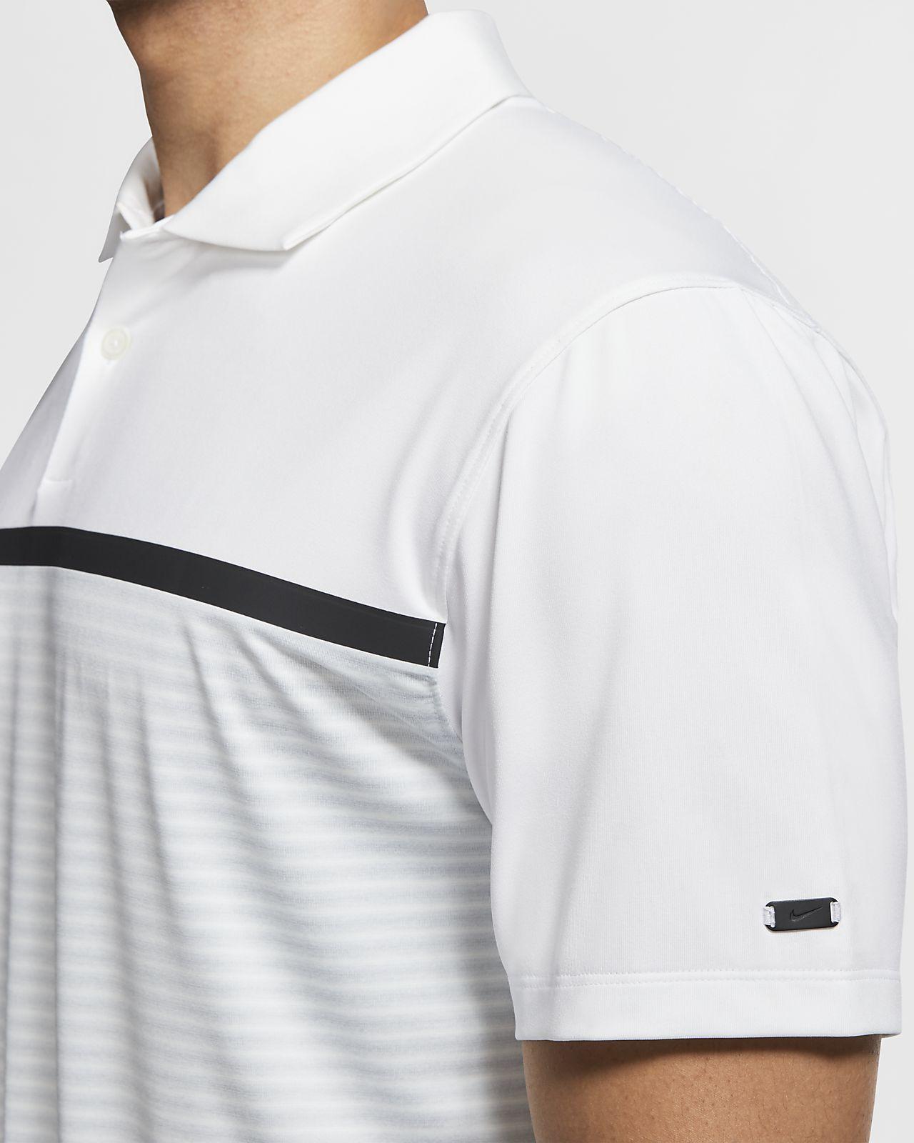 6f50beae Nike Dri-FIT Tiger Woods Vapor Men's Striped Golf Polo
