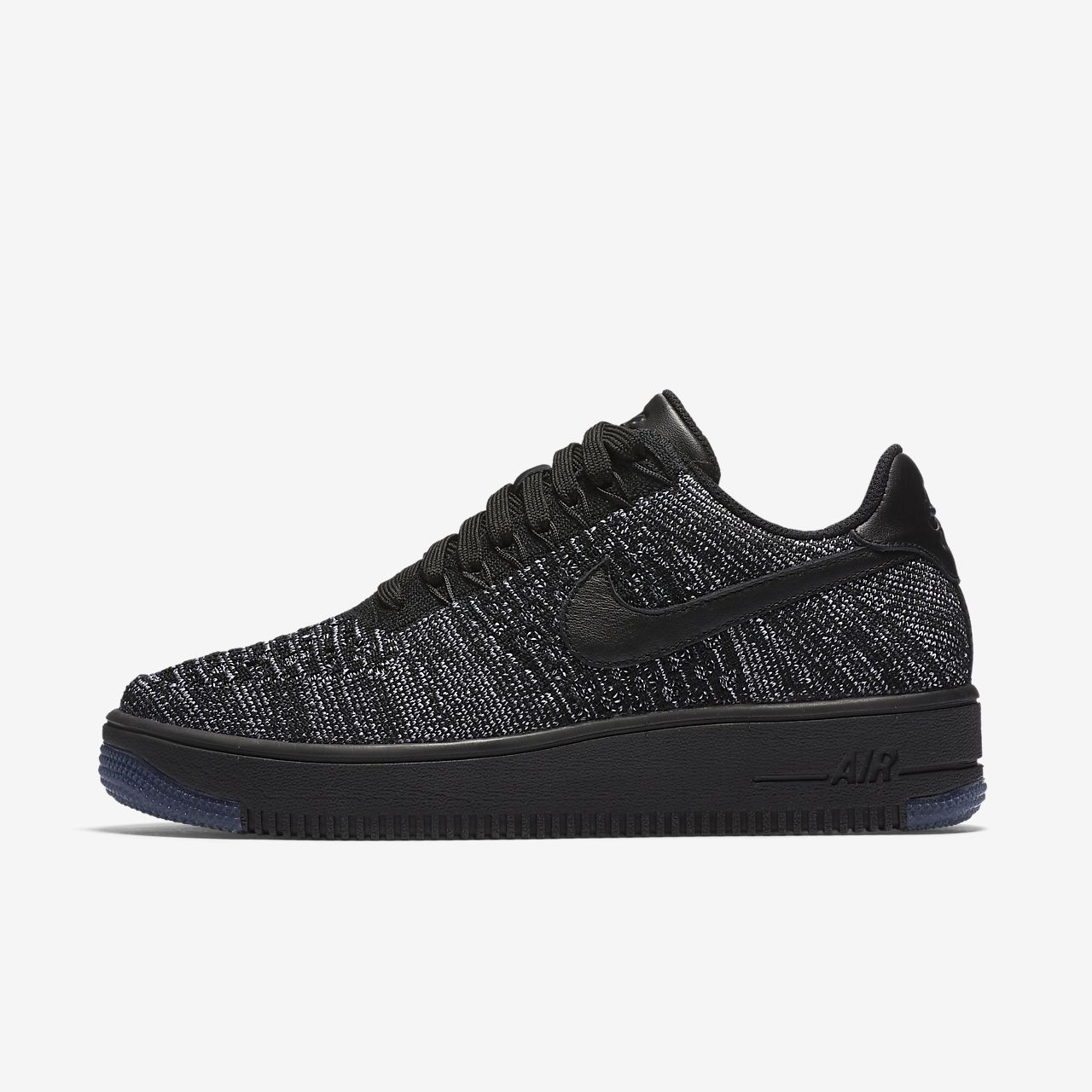 Nike Air Force Flyknit Bas Noir