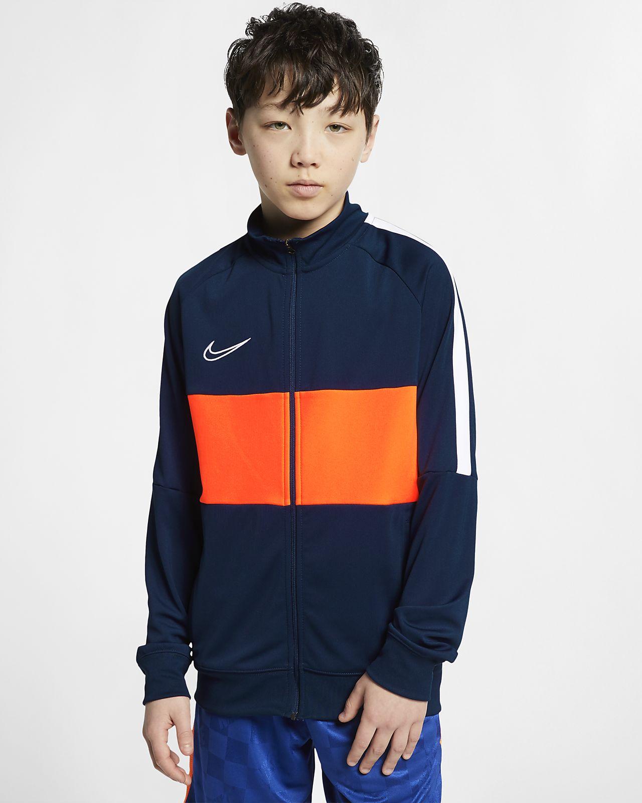 "Chamarra de fútbol para niños talla grande Nike Dri-FIT Academy ""I96"""