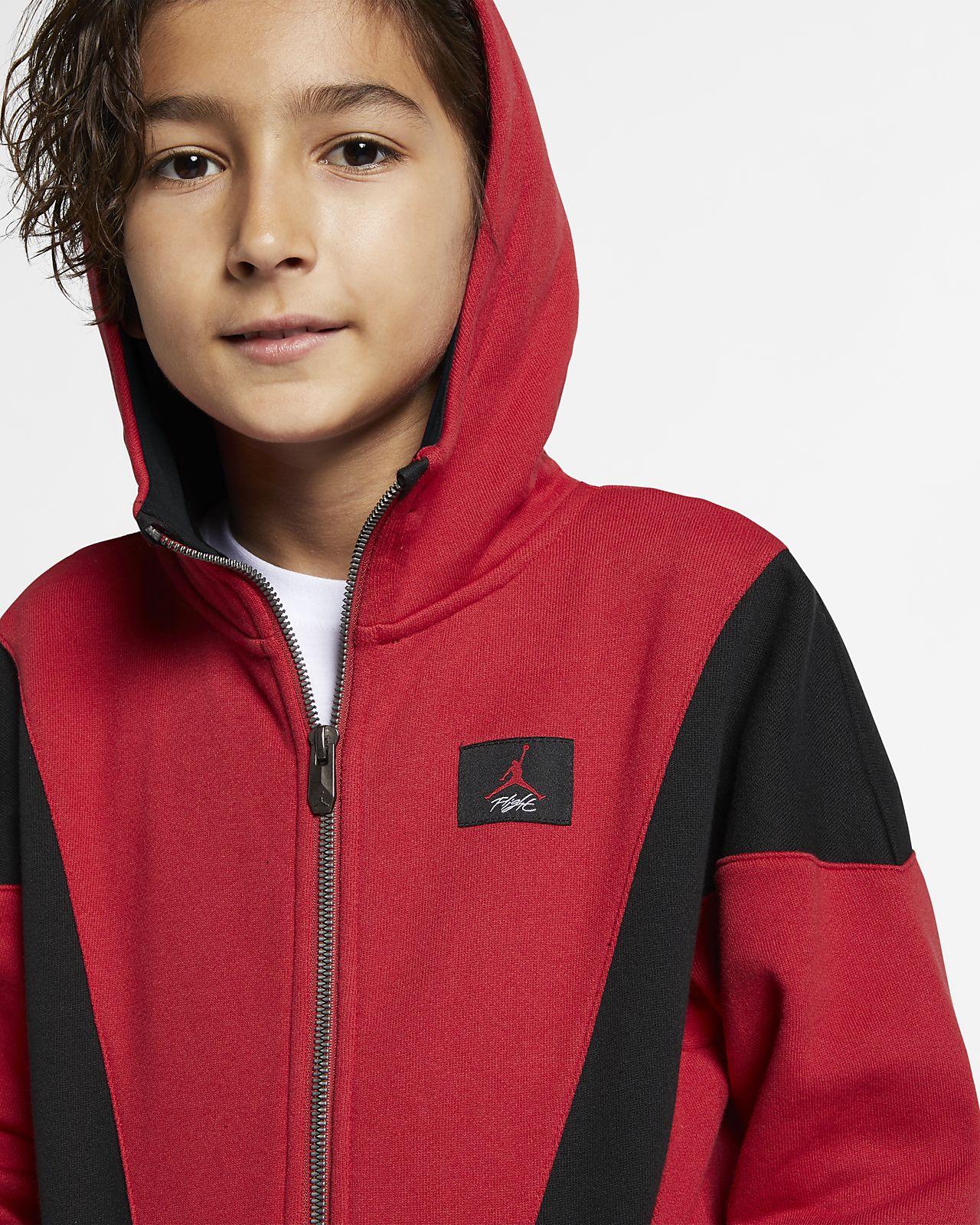 6eea2041e2ac Jordan Flight Lite Older Kids  (Boys ) Full-Zip Hoodie. Nike.com GB