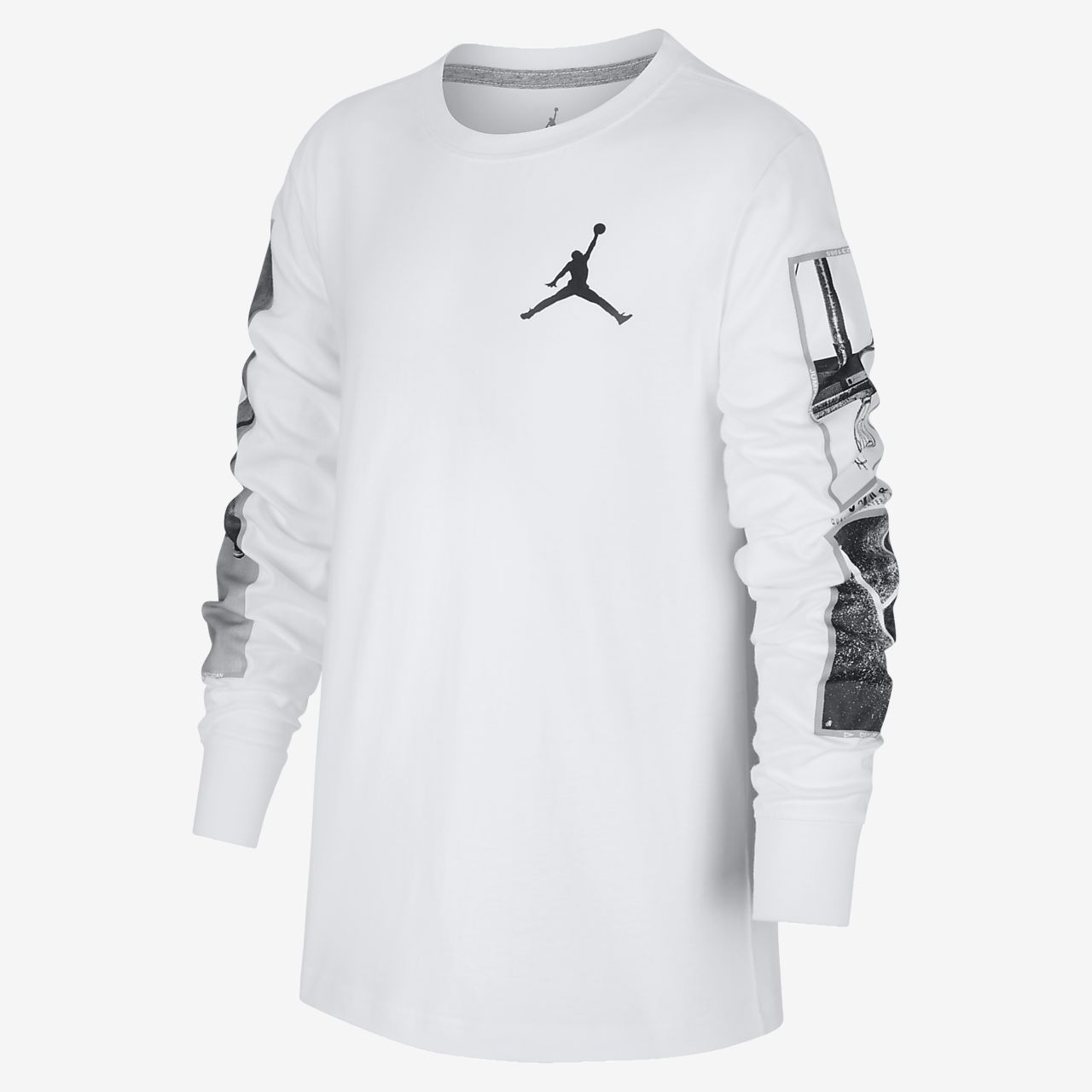 Jordan Legacy 大童(男孩)长袖T恤