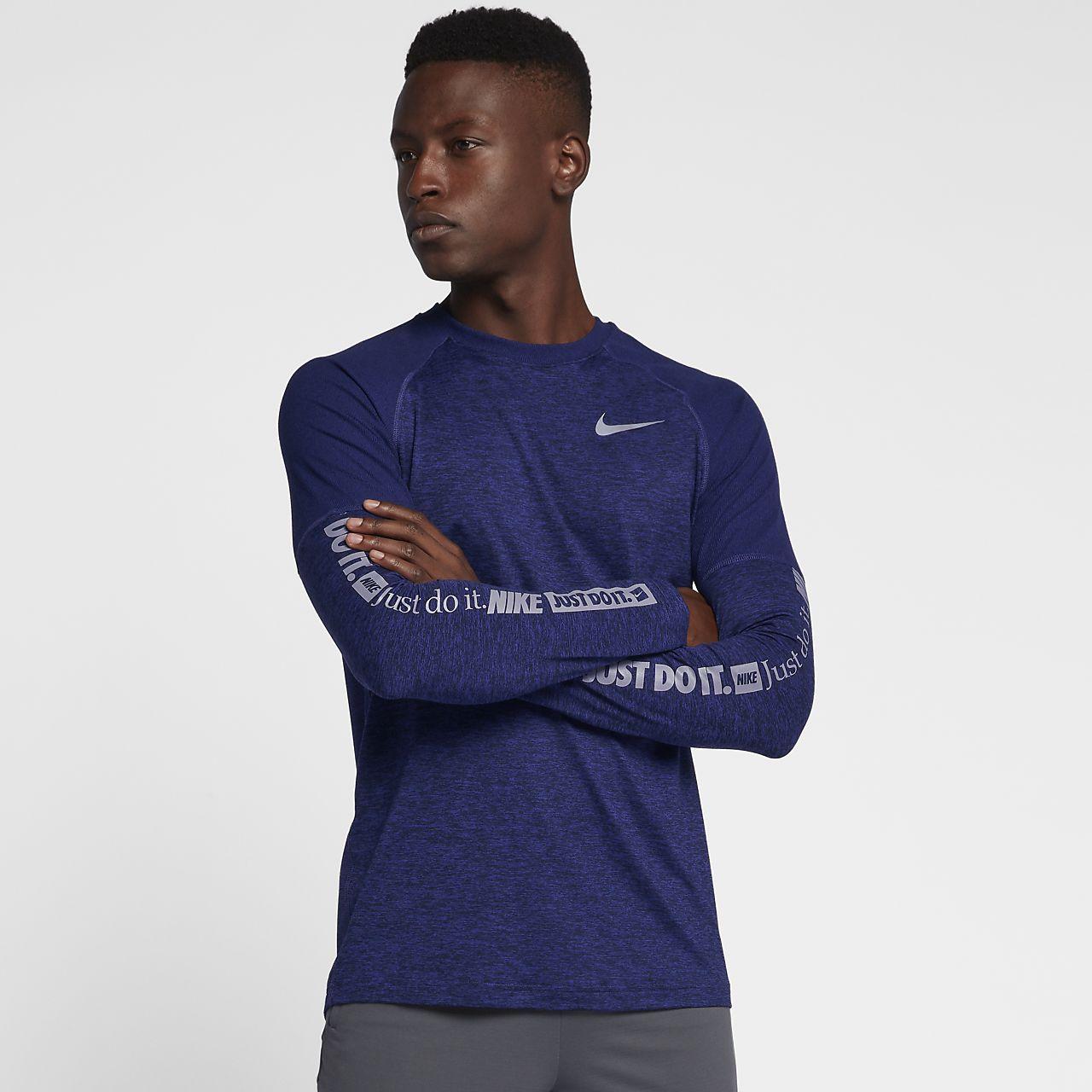 4650511df Męska koszulka z długim rękawem do biegania Nike Element. Nike.com PL