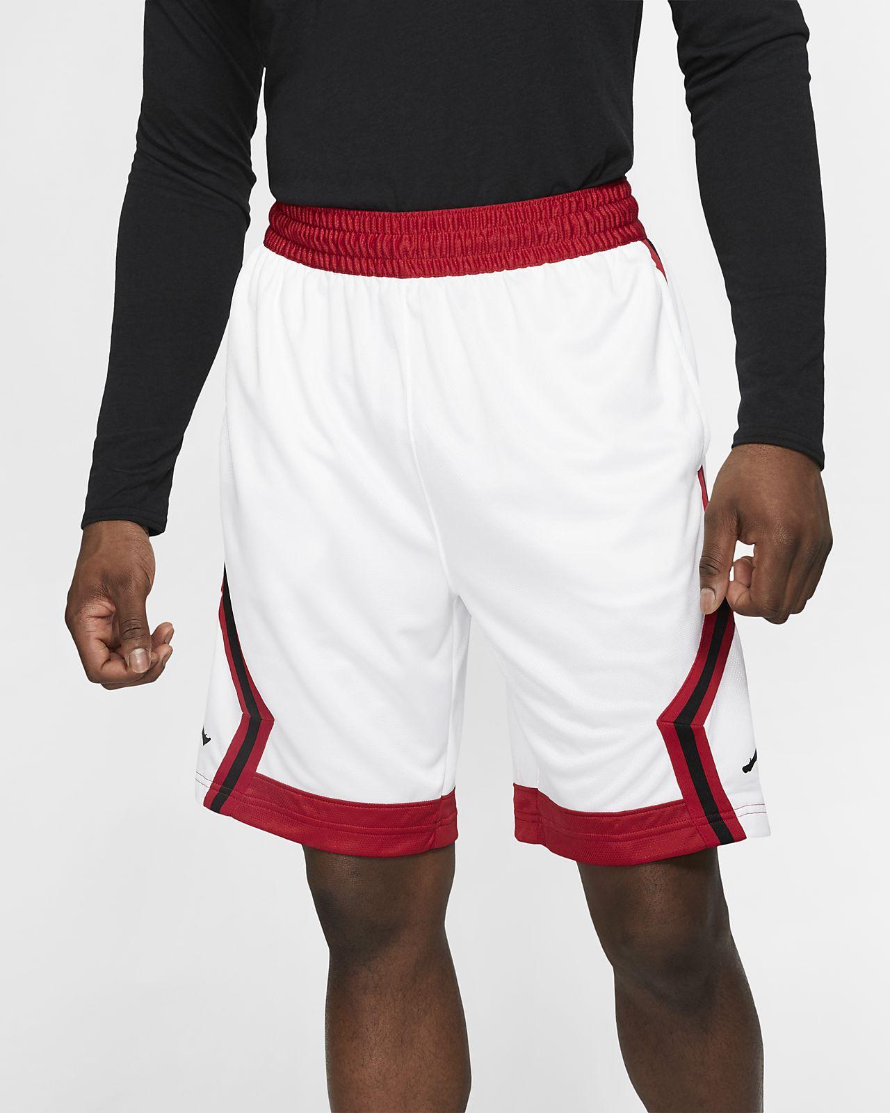 Jordan Jumpman Diamond gestreifte Herren-Basketballshorts