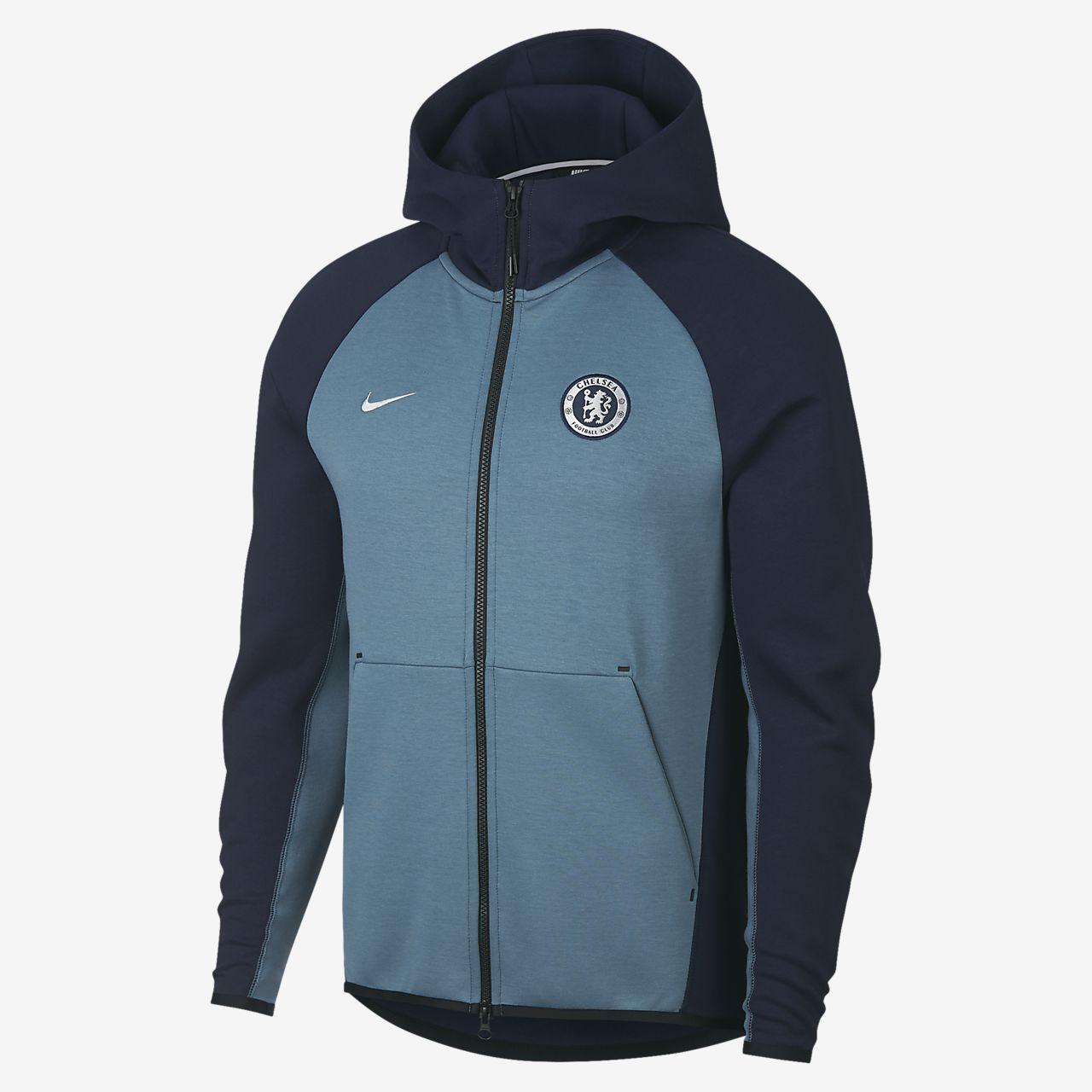9b64c7f20d67 Chelsea FC Tech Fleece Men s Full-Zip Hoodie. Nike.com GB