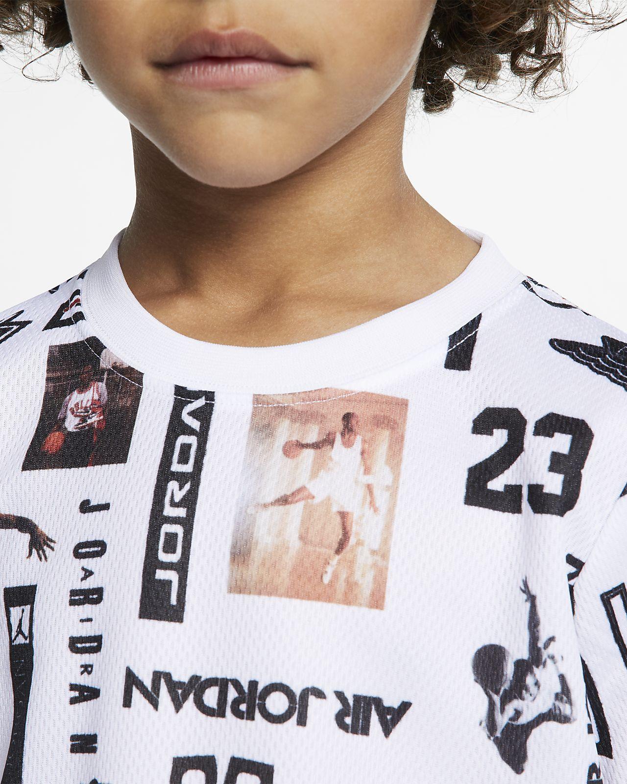 b398d2f24b1e Jordan Sportswear Little Kids  Mesh T-Shirt. Nike.com