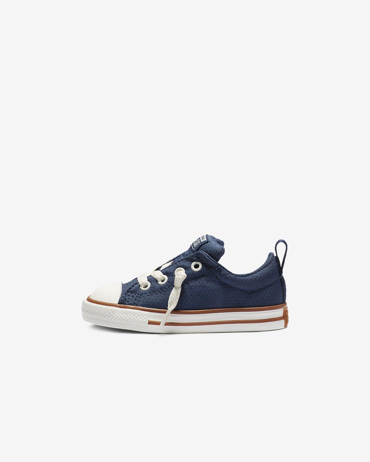 Converse Chuck Taylor All Star Street Pinstripe Toddler Shoe